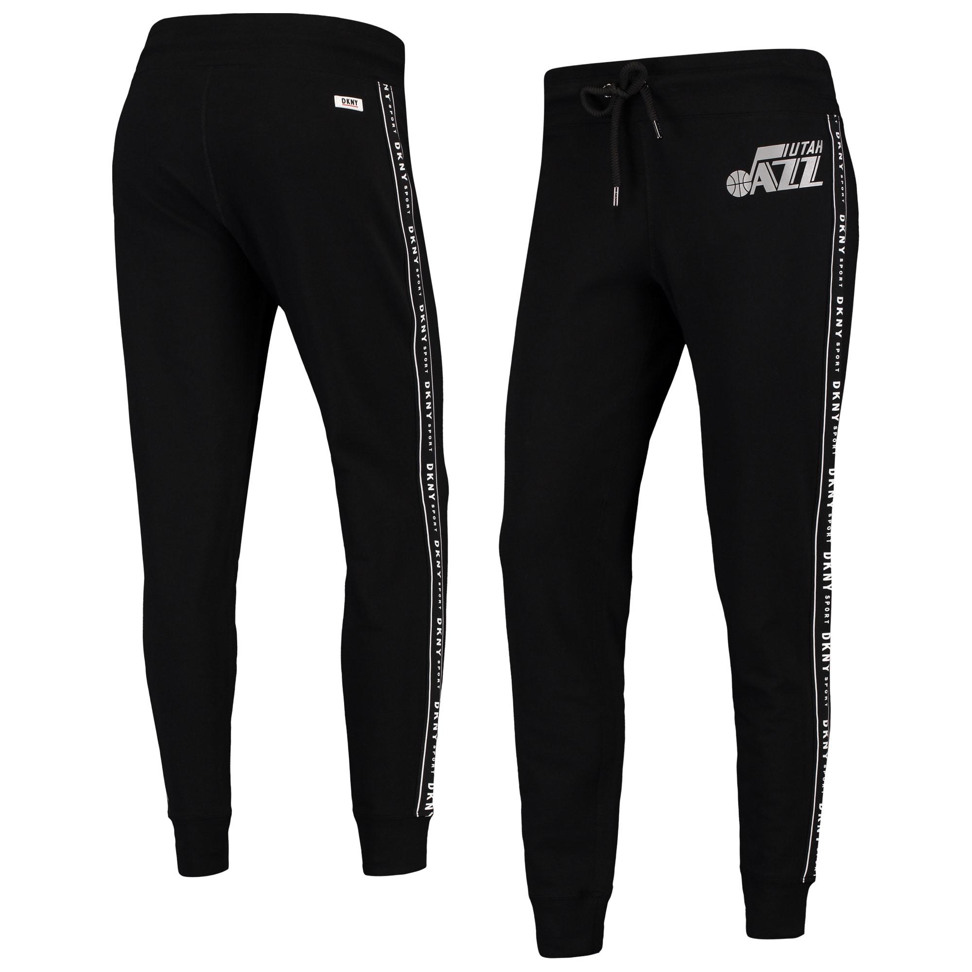 Utah Jazz DKNY Sport Women's Brooke Jogger Pants - Black