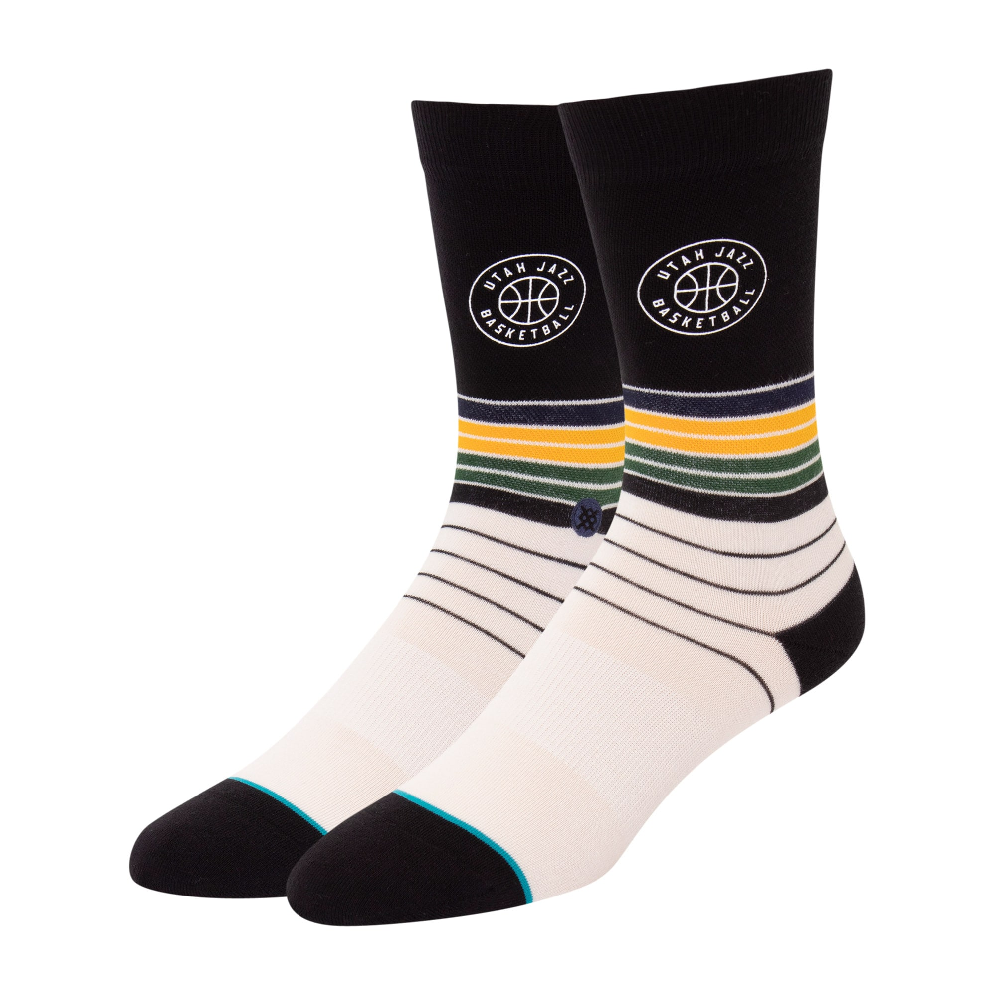 Utah Jazz Stance Baseline Dress Socks