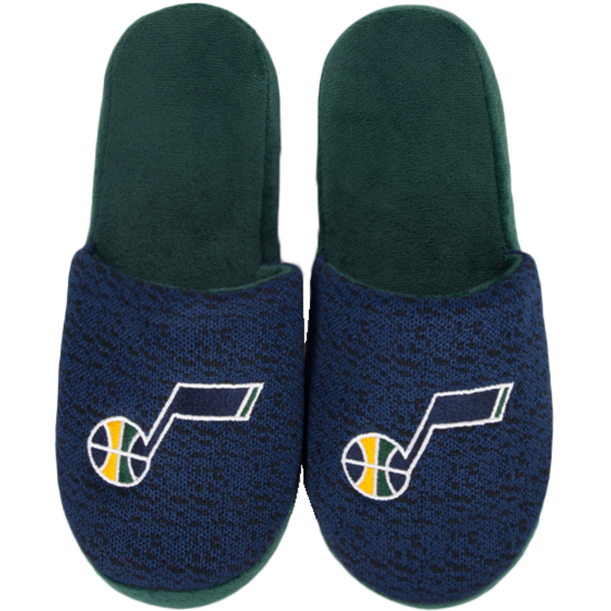 Utah Jazz Knit Slide Slippers