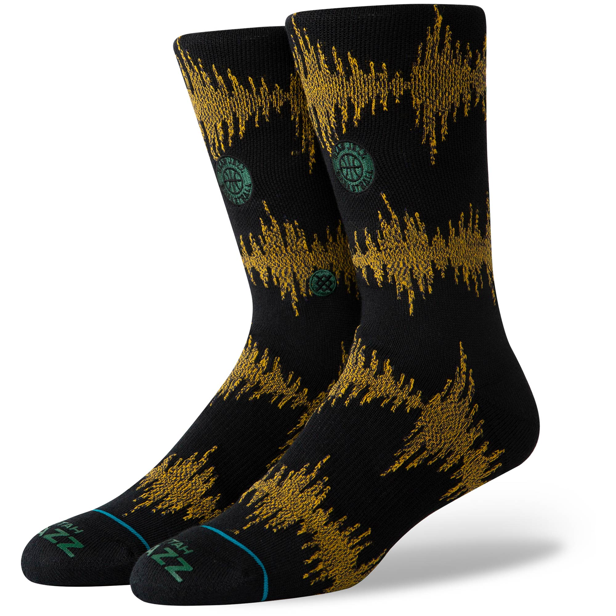 Utah Jazz Stance 99 Wave Crew Socks