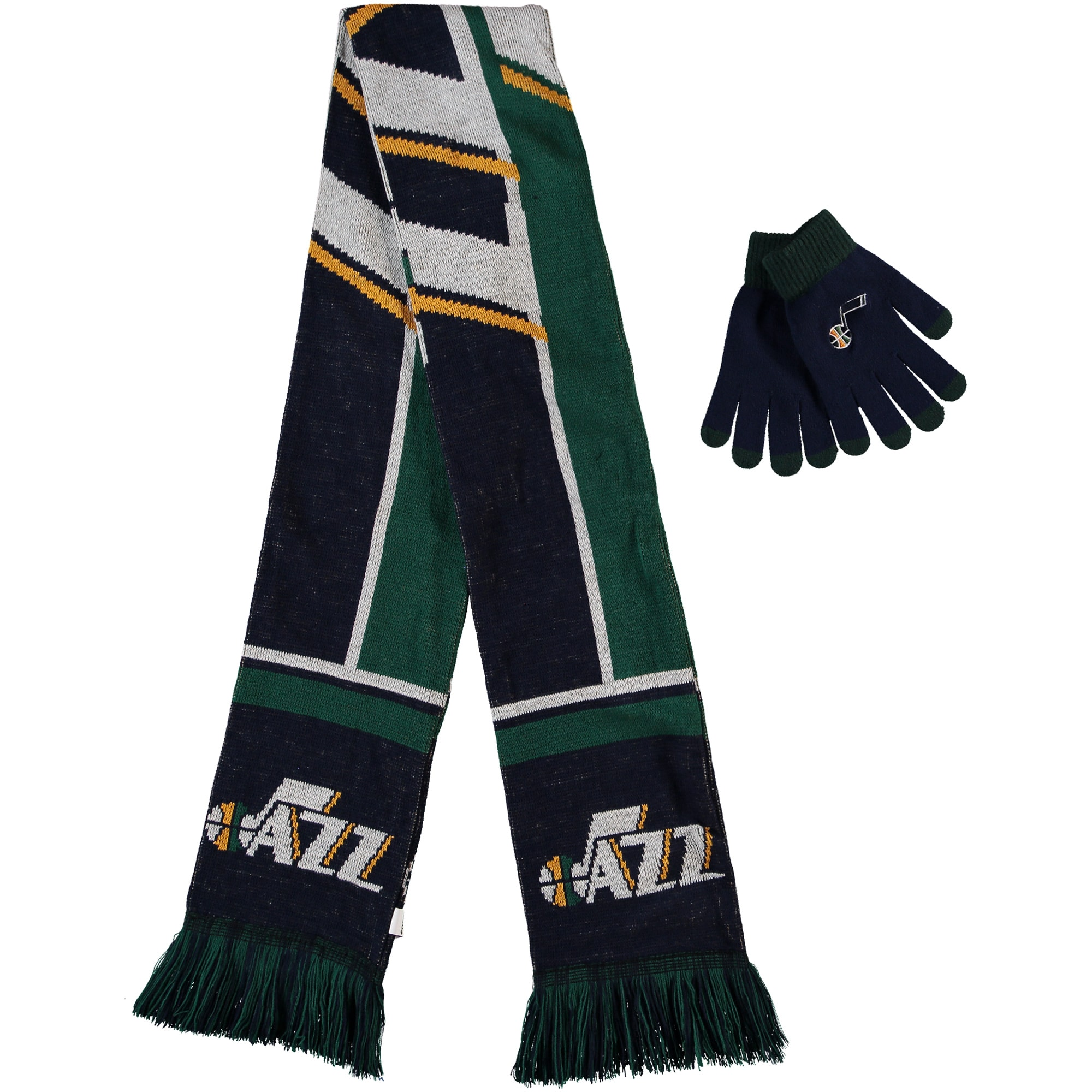 Utah Jazz Hol Gloves & Scarf Set