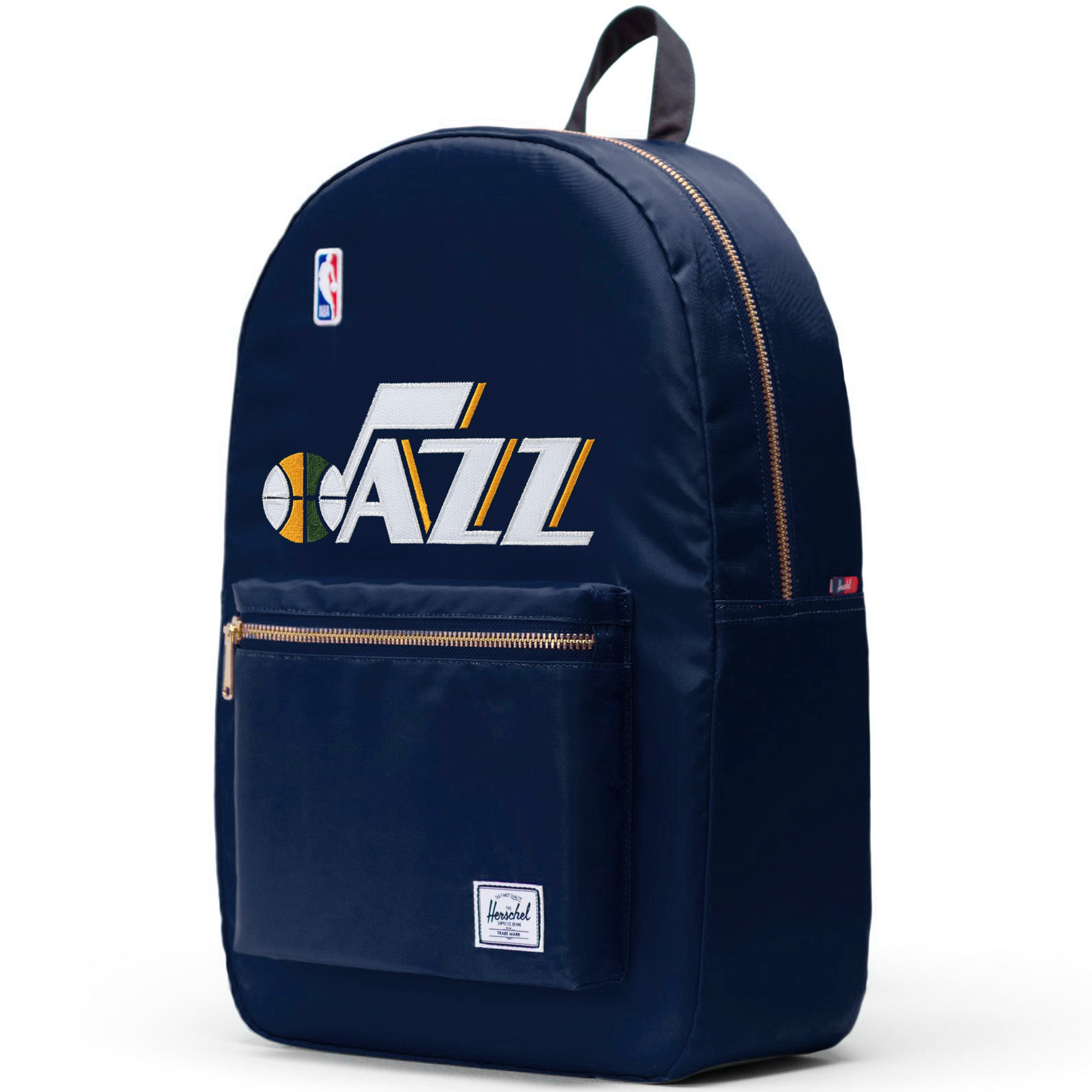 Utah Jazz Herschel Supply Co. Satin Settlement Backpack - Navy