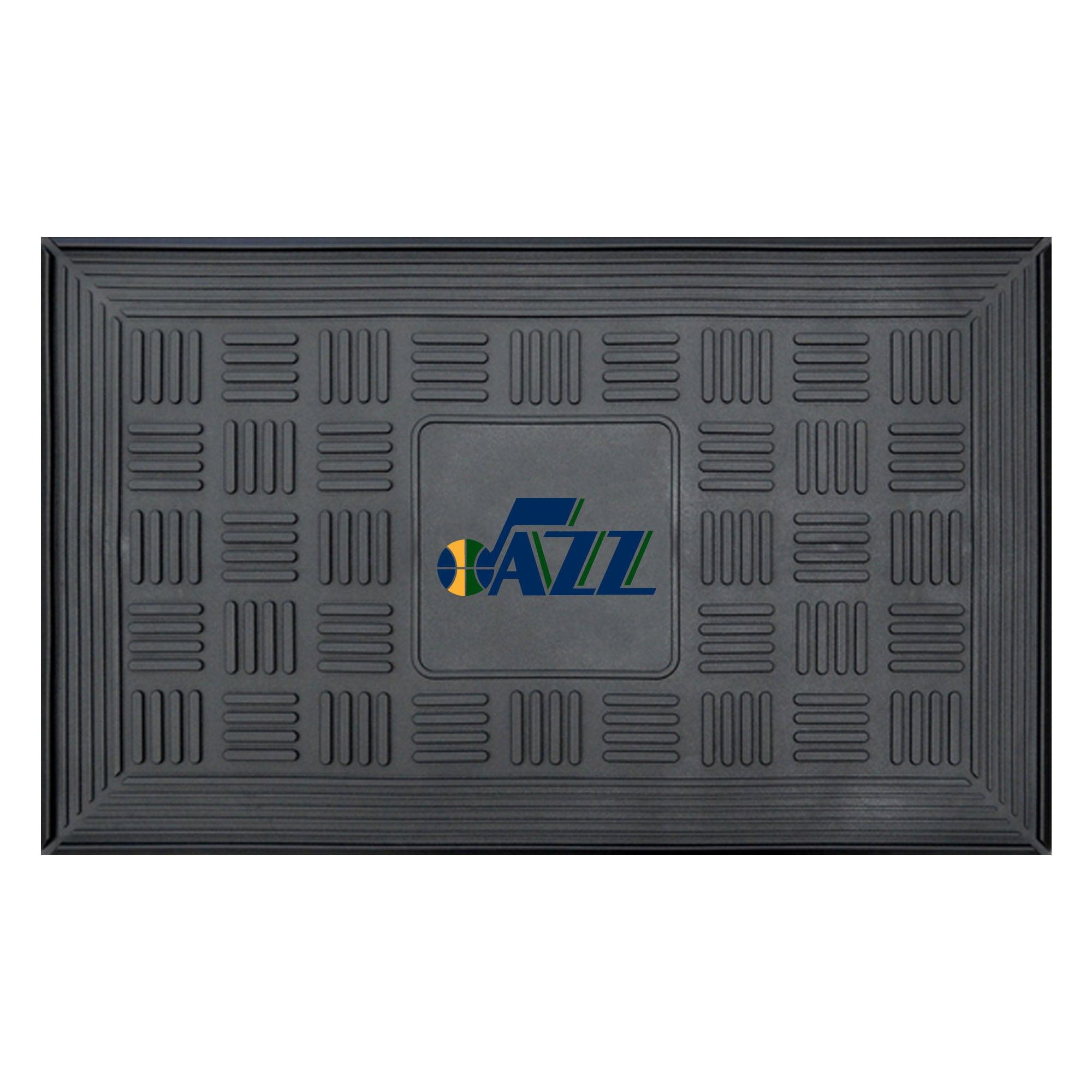 """Utah Jazz 19.5"""" x 31.25"""" Medallion Door Mat"""