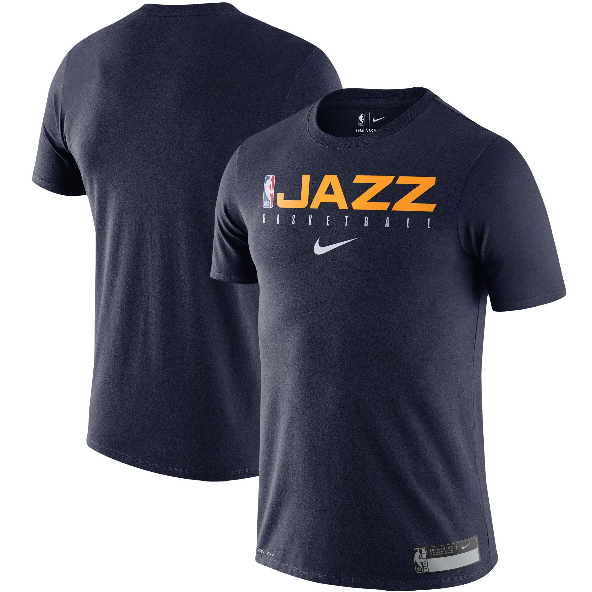 Utah Jazz Nike Essential Practice Performance T-Shirt - Navy