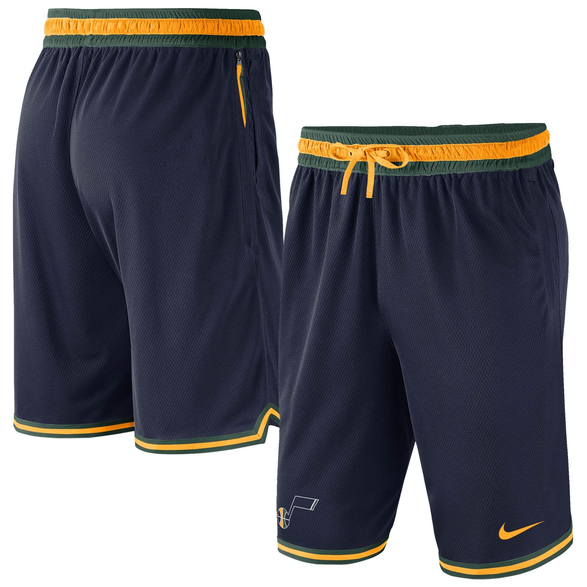 Utah Jazz Nike Heavyweight DNA Performance Shorts - Navy