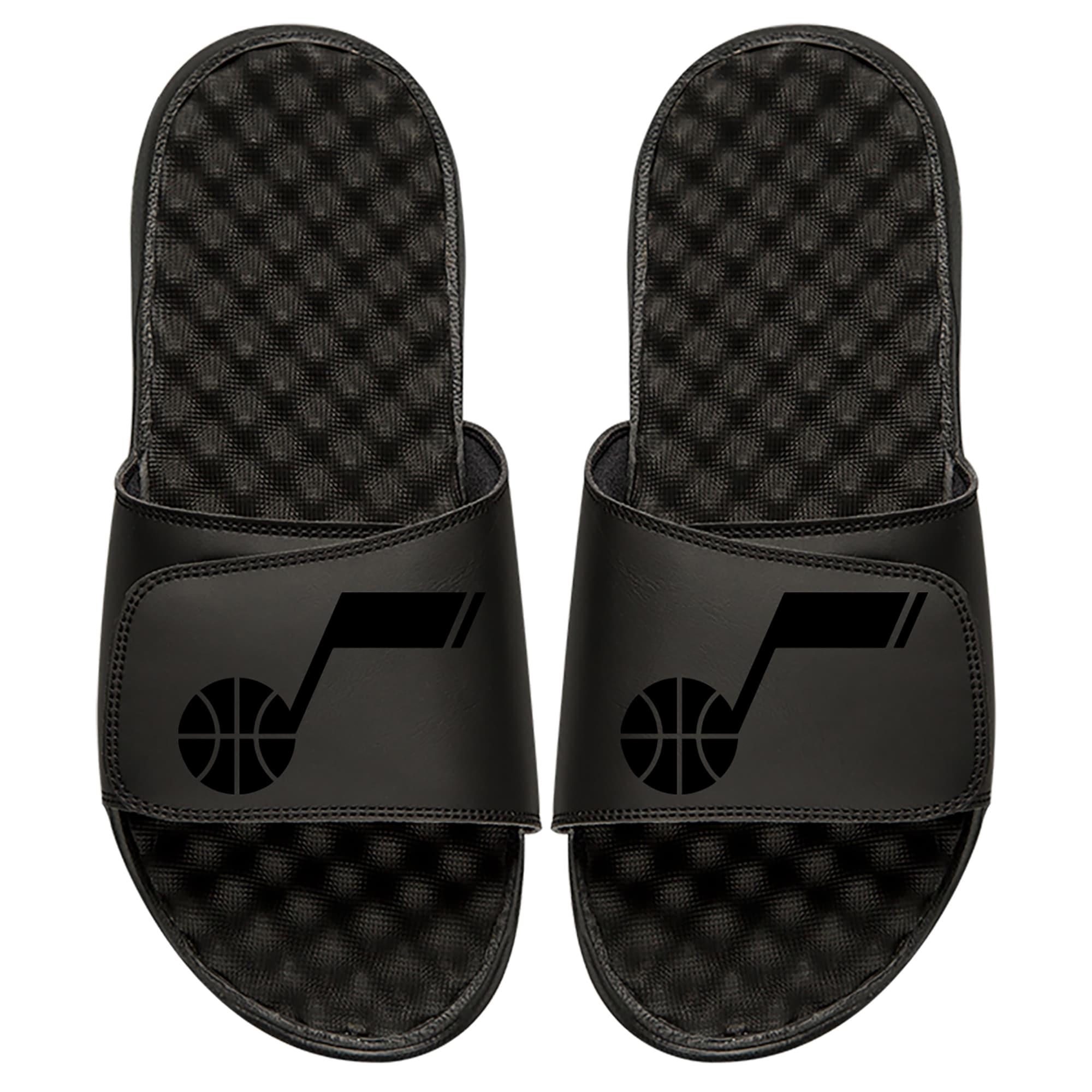 Utah Jazz ISlide Youth Tonal Slide Sandals - Black