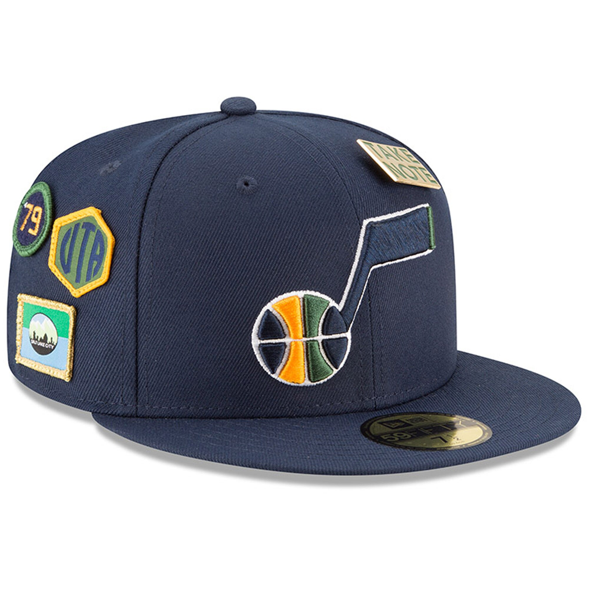 Utah Jazz New Era 2018 Draft 59FIFTY Fitted Hat - Navy
