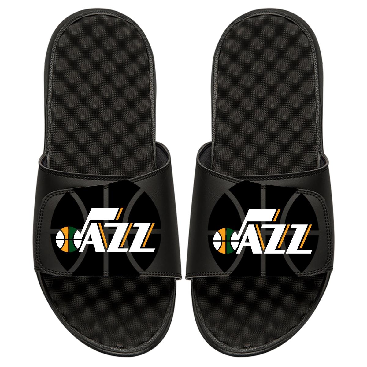 Utah Jazz ISlide Tonal Pop Slide Sandals - Black