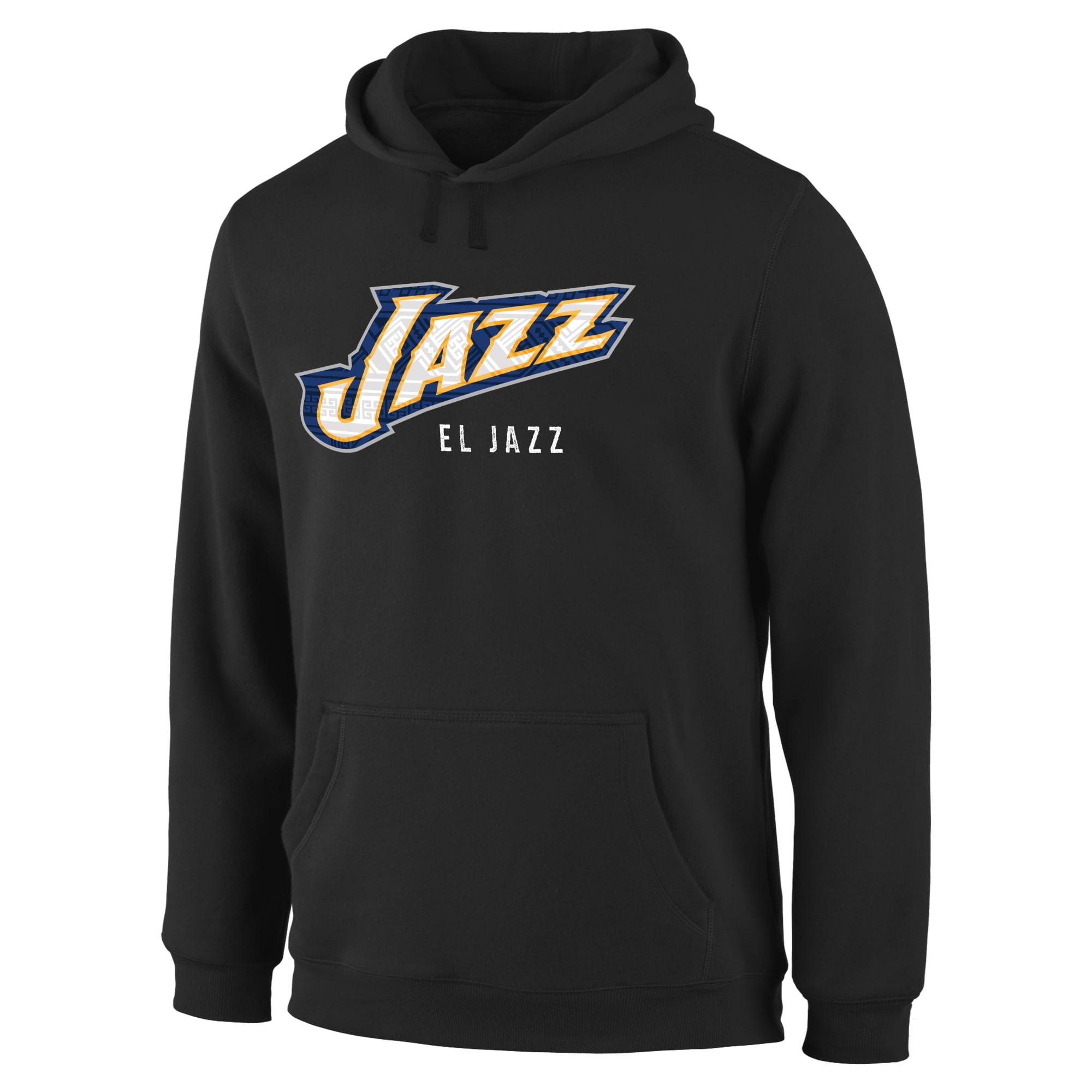Utah Jazz Noches Enebea Pullover Hoodie - Black