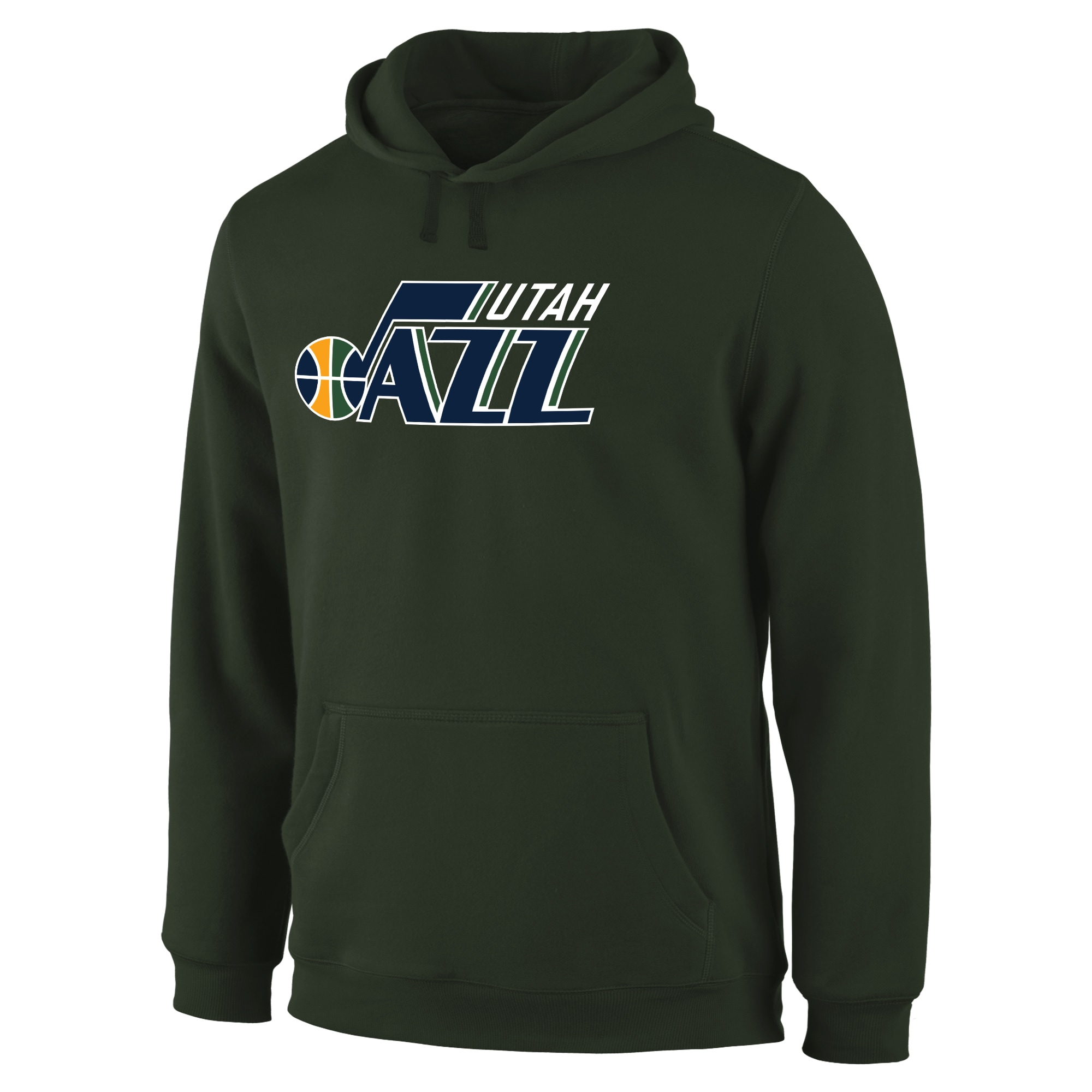Utah Jazz Primary Logo Pullover Hoodie - Green