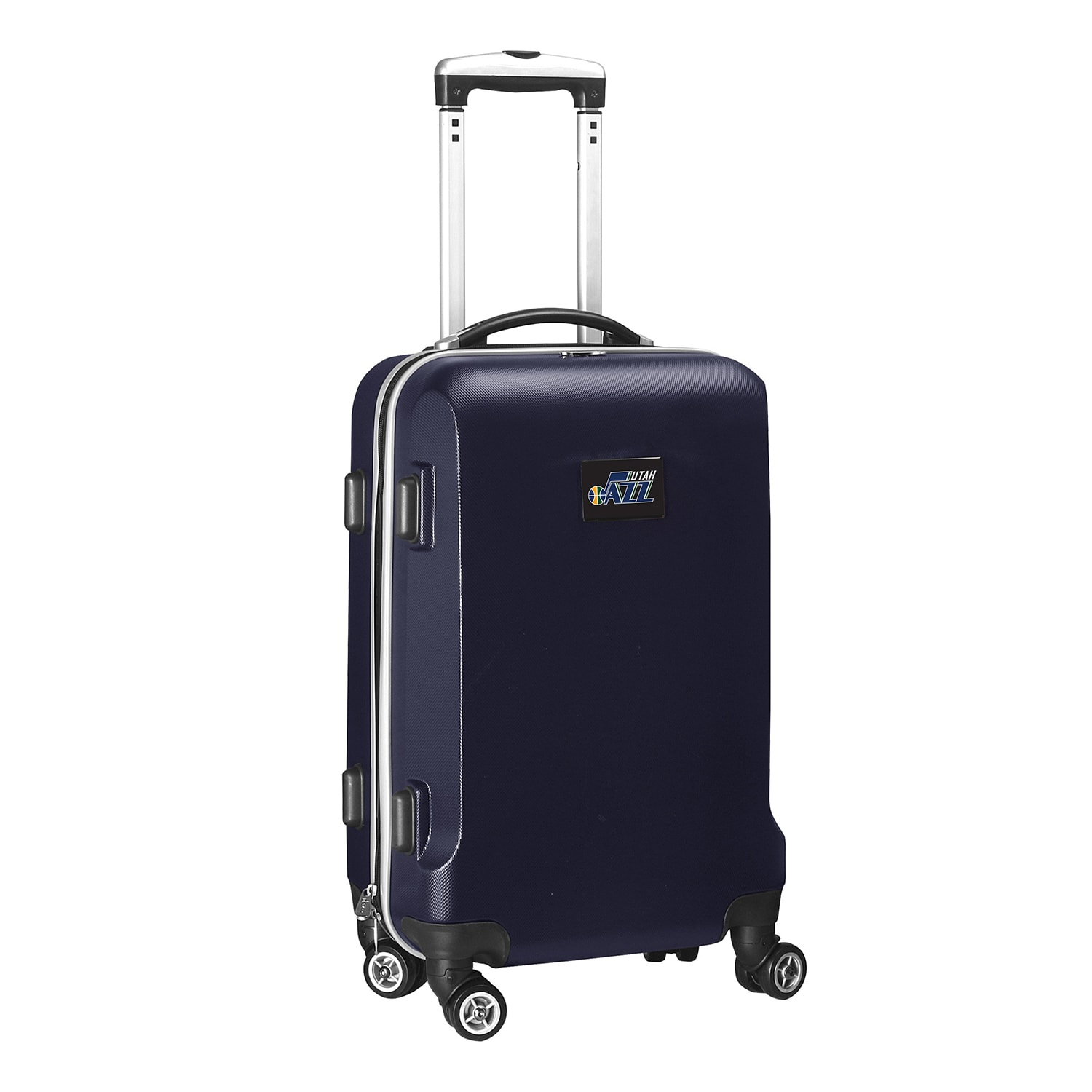 "Utah Jazz 21"" 8-Wheel Hardcase Spinner Carry-On - Navy"