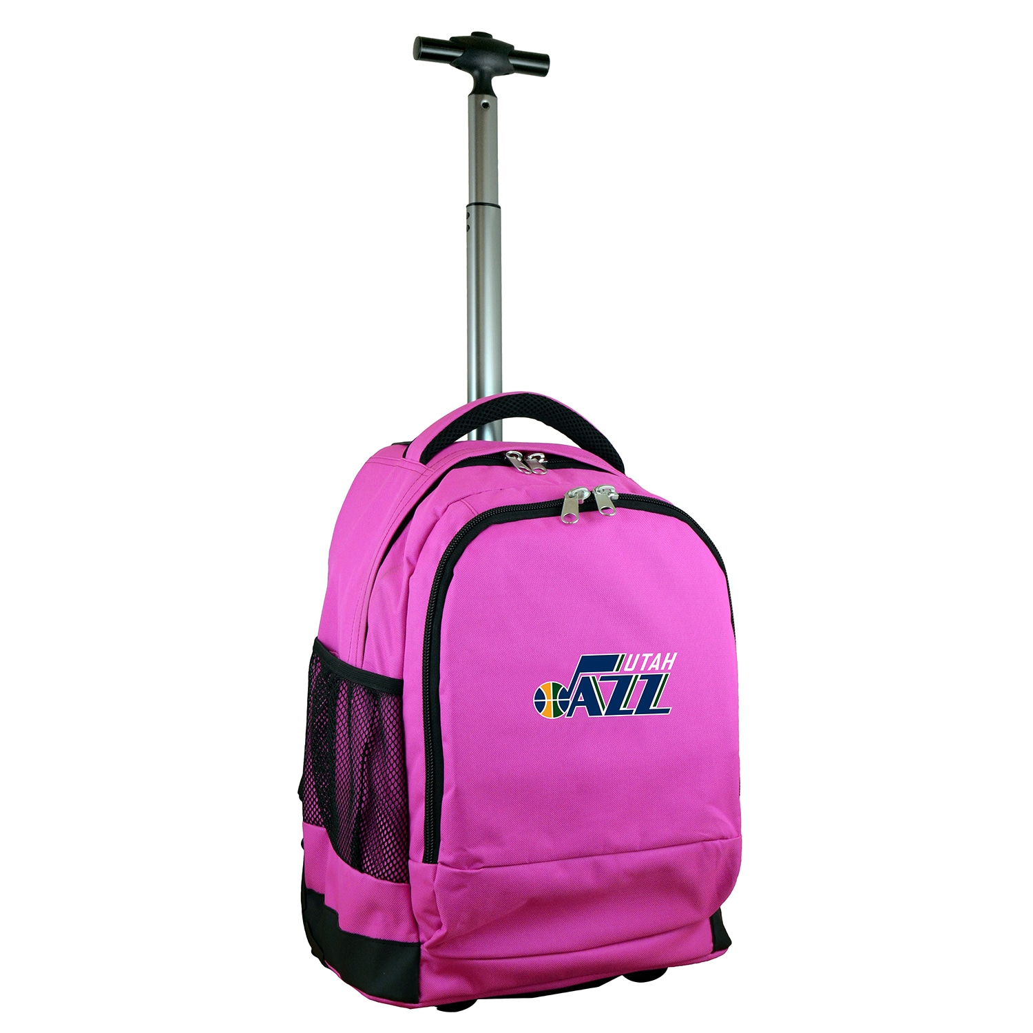 Utah Jazz 19'' Premium Wheeled Backpack - Pink