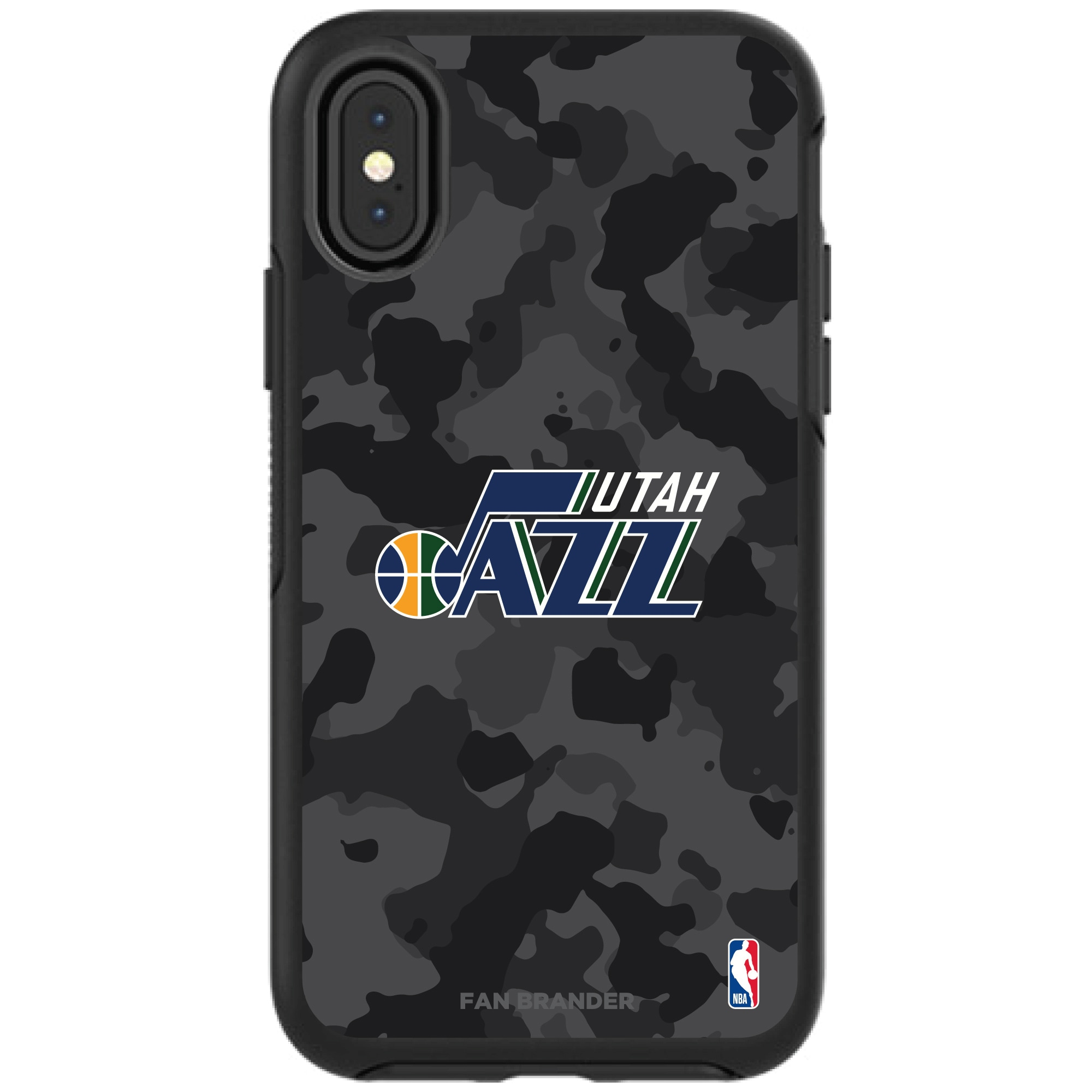 Utah Jazz OtterBox Urban Camo iPhone Case