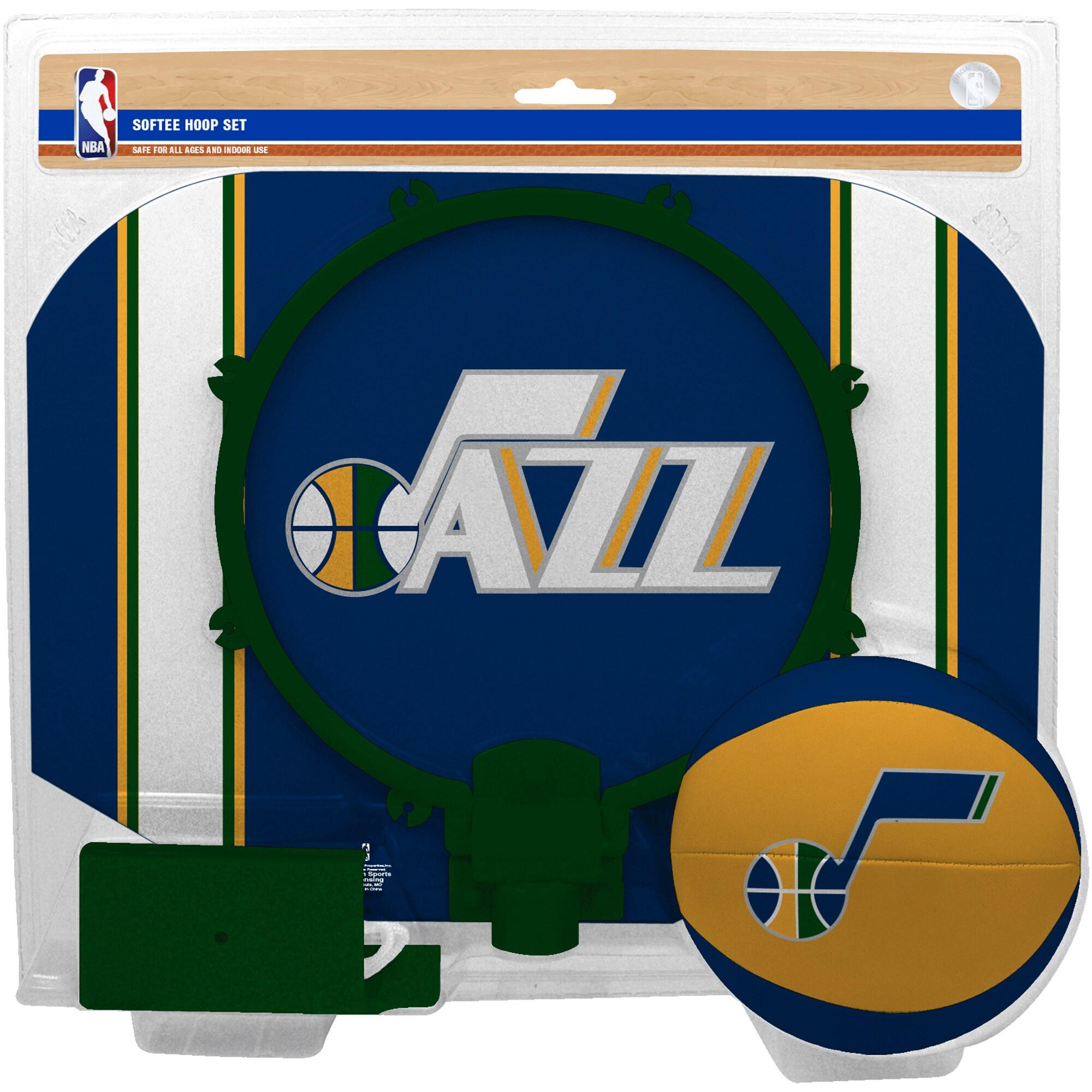Utah Jazz Rawlings Softee Hoop & Ball Set
