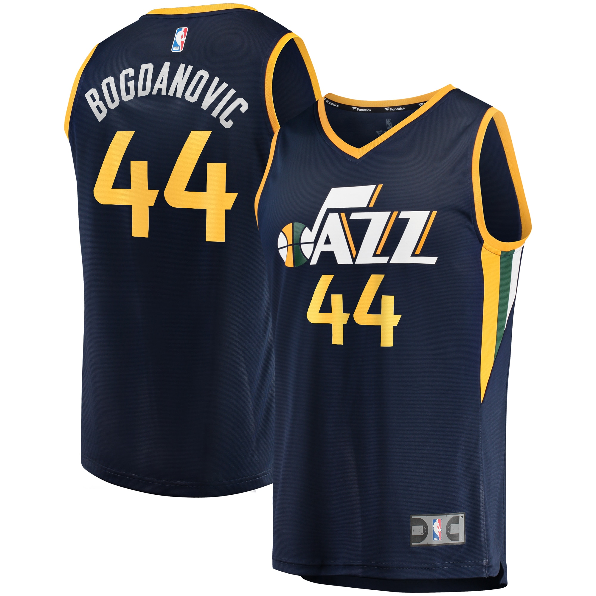 Bojan Bogdanovic Utah Jazz Fanatics Branded Fast Break Replica Jersey Navy - Icon Edition