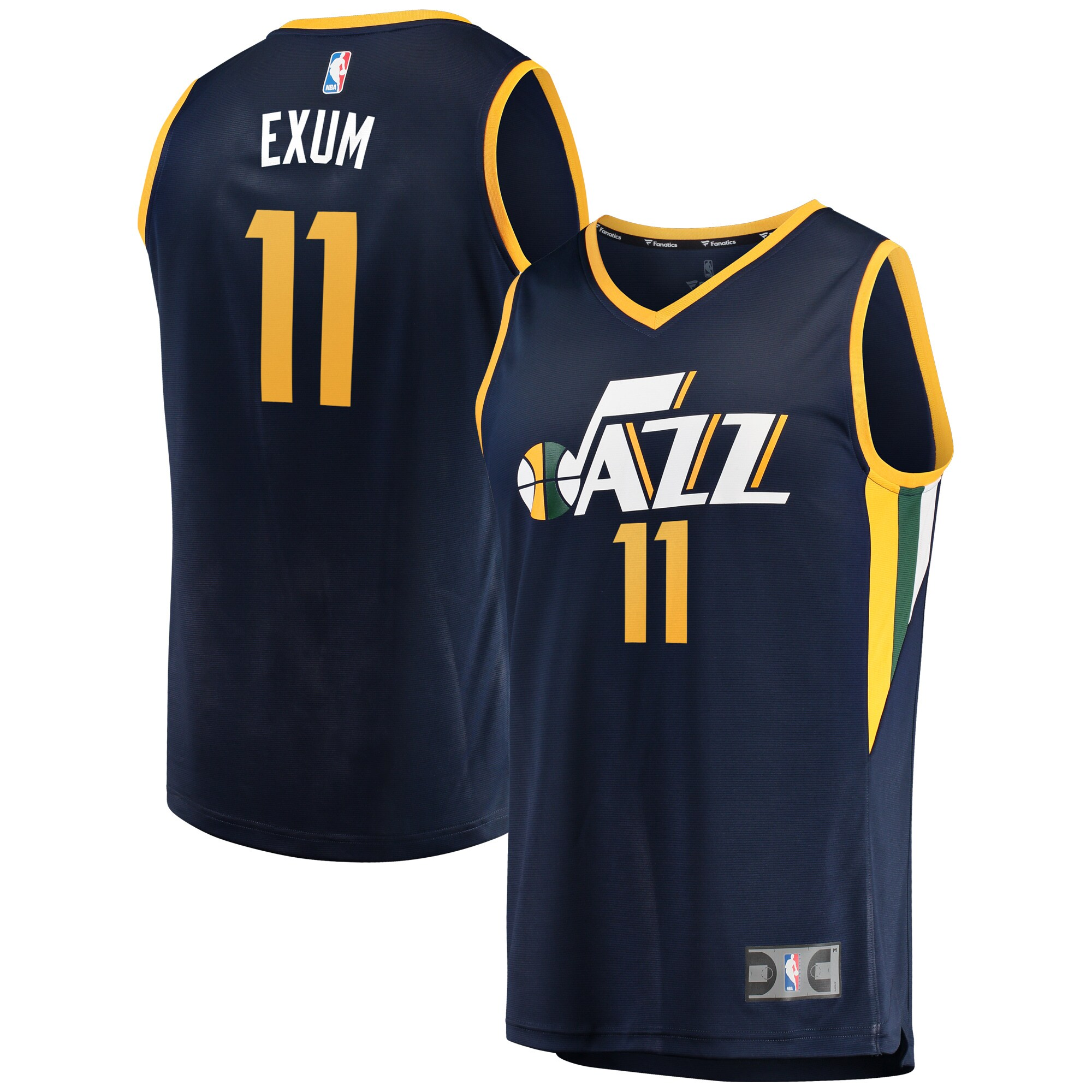 Dante Exum Utah Jazz Fanatics Branded Fast Break Replica Player Jersey - Icon Edition - Navy