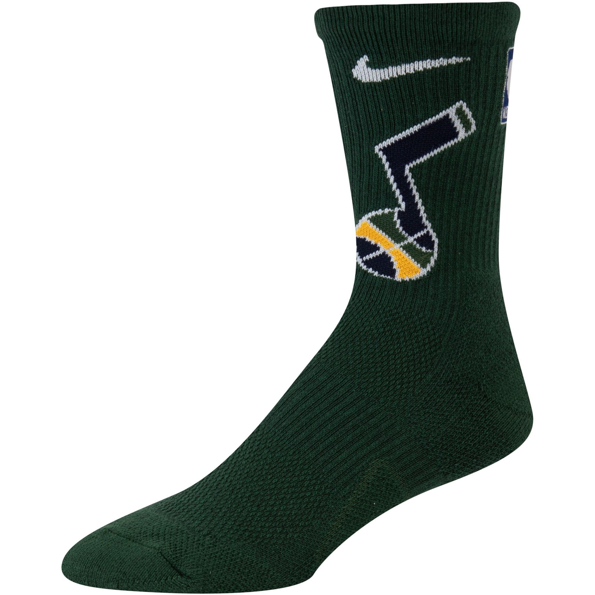 Utah Jazz Nike Elite Team Performance Crew Socks - Green