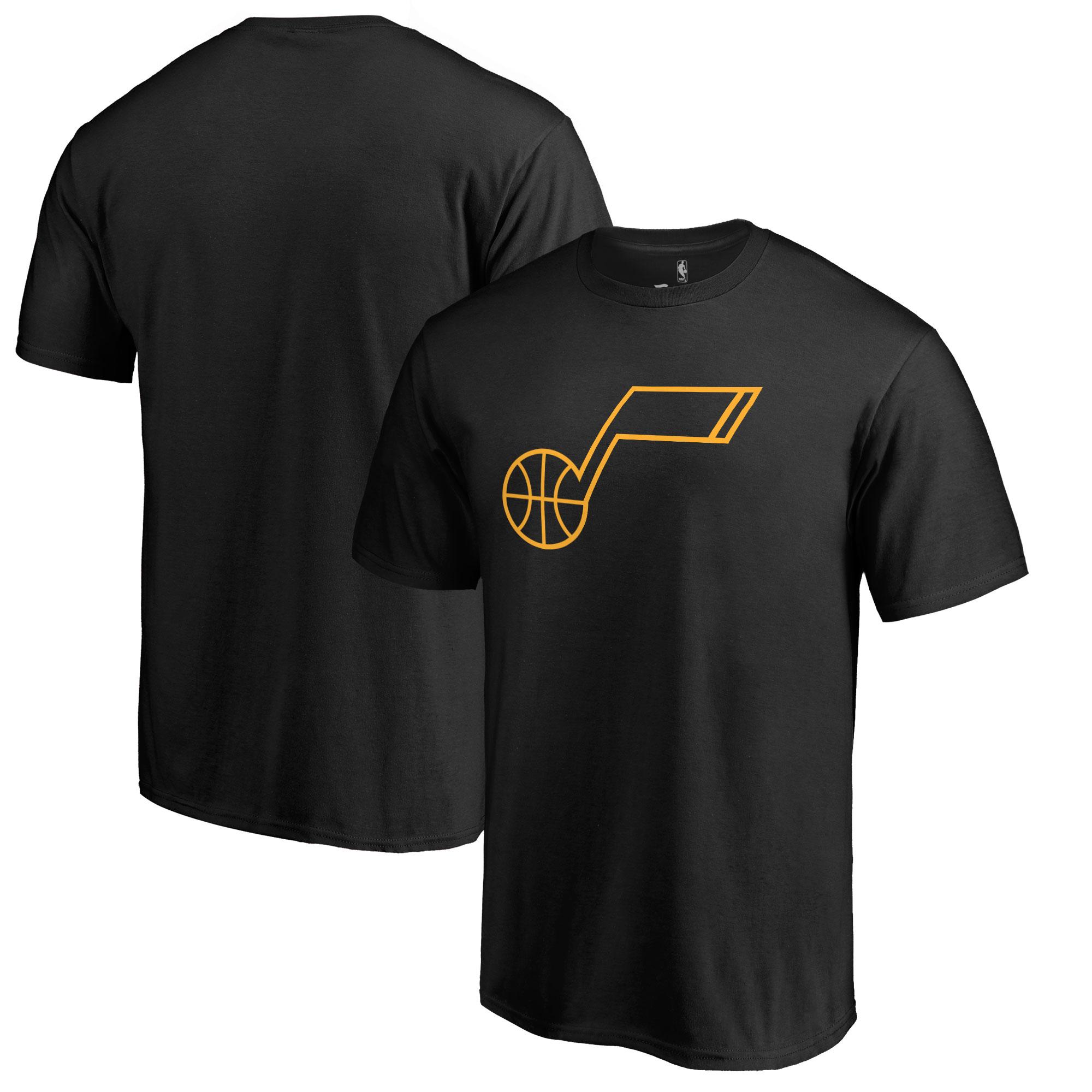 Utah Jazz Fanatics Branded Taylor T-Shirt - Black