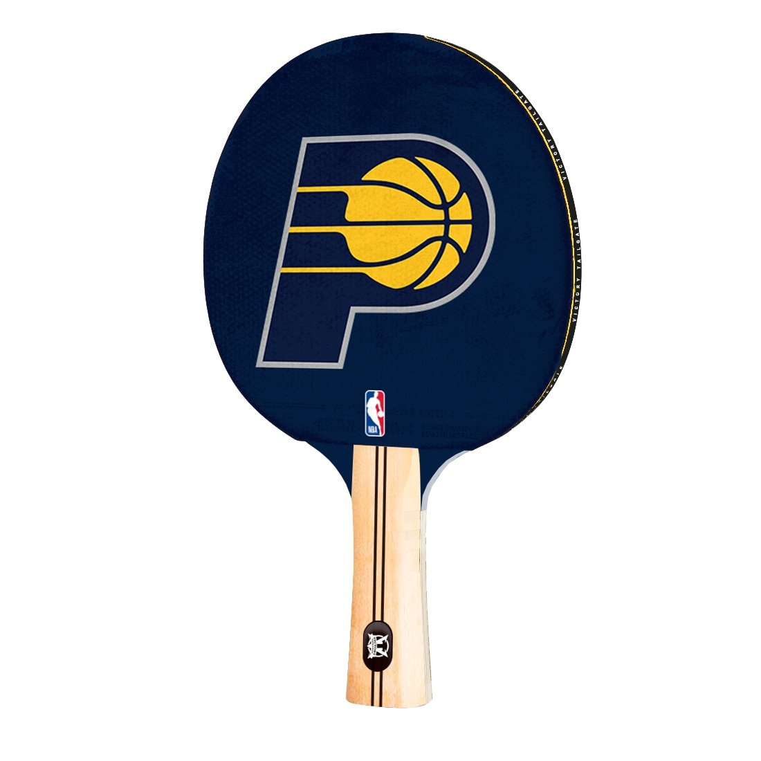 Indiana Pacers Logo Table Tennis Paddle