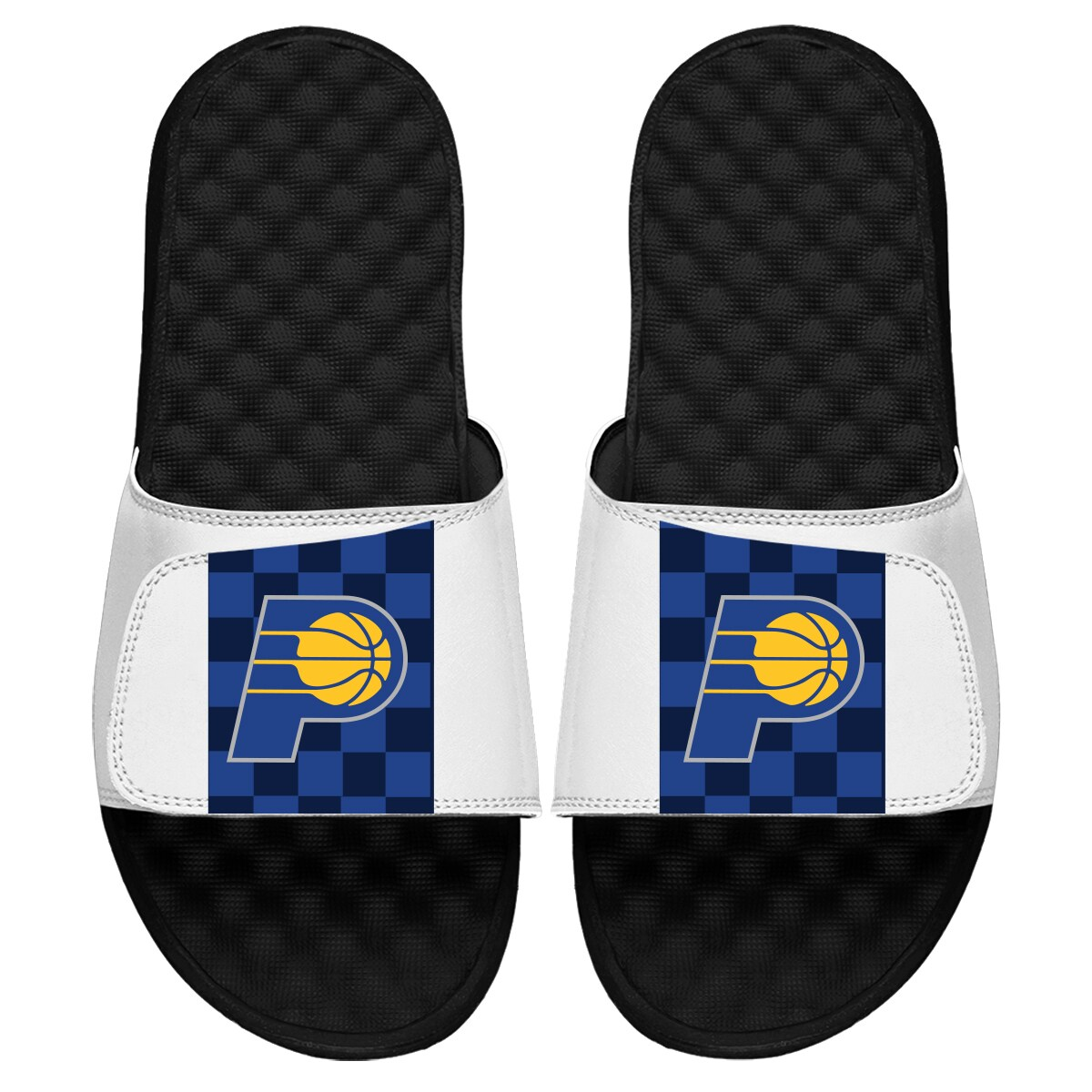 Indiana Pacers ISlide Youth 2019/20 City Edition Slide Sandals - White