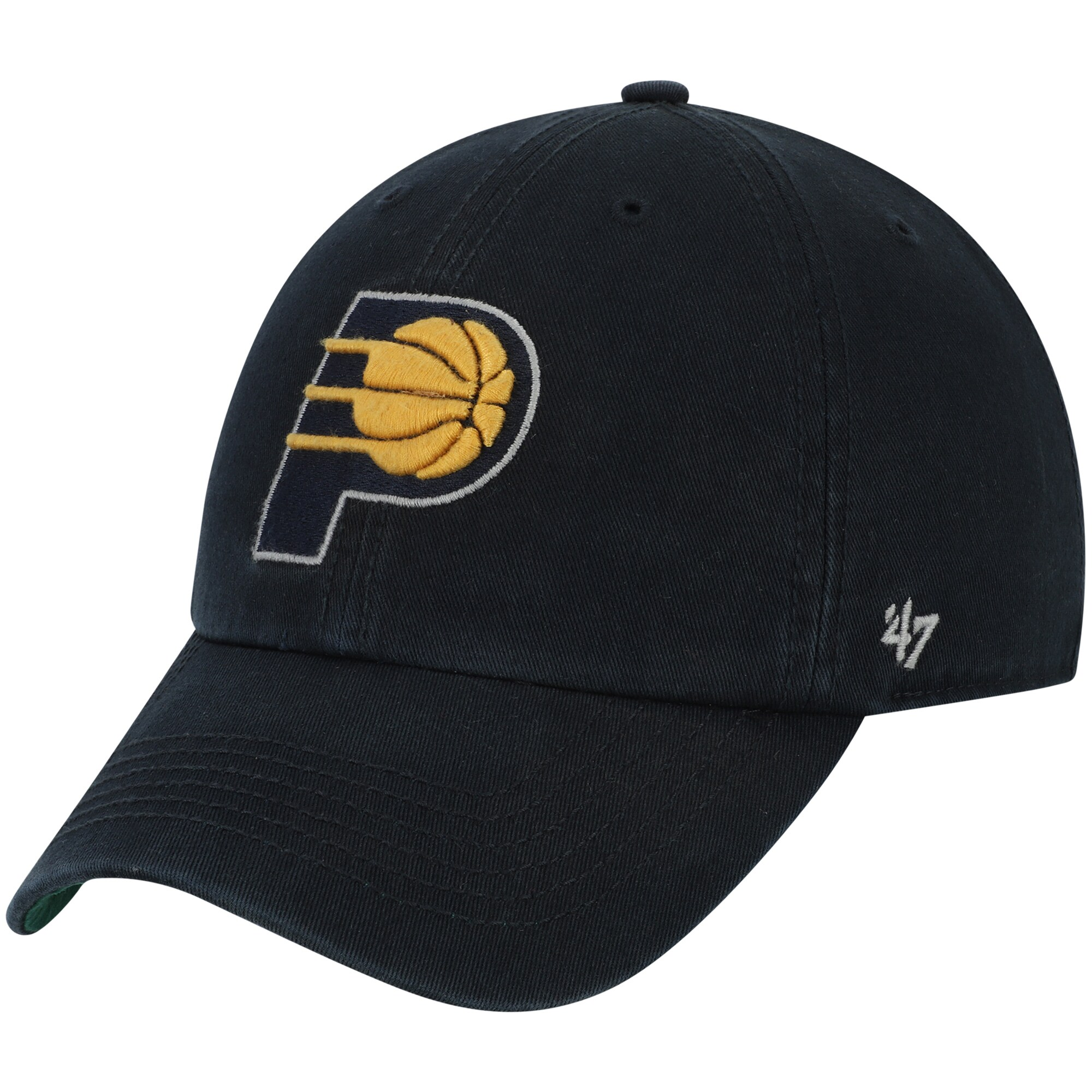 Indiana Pacers '47 Franchise Fitted Hat - Navy