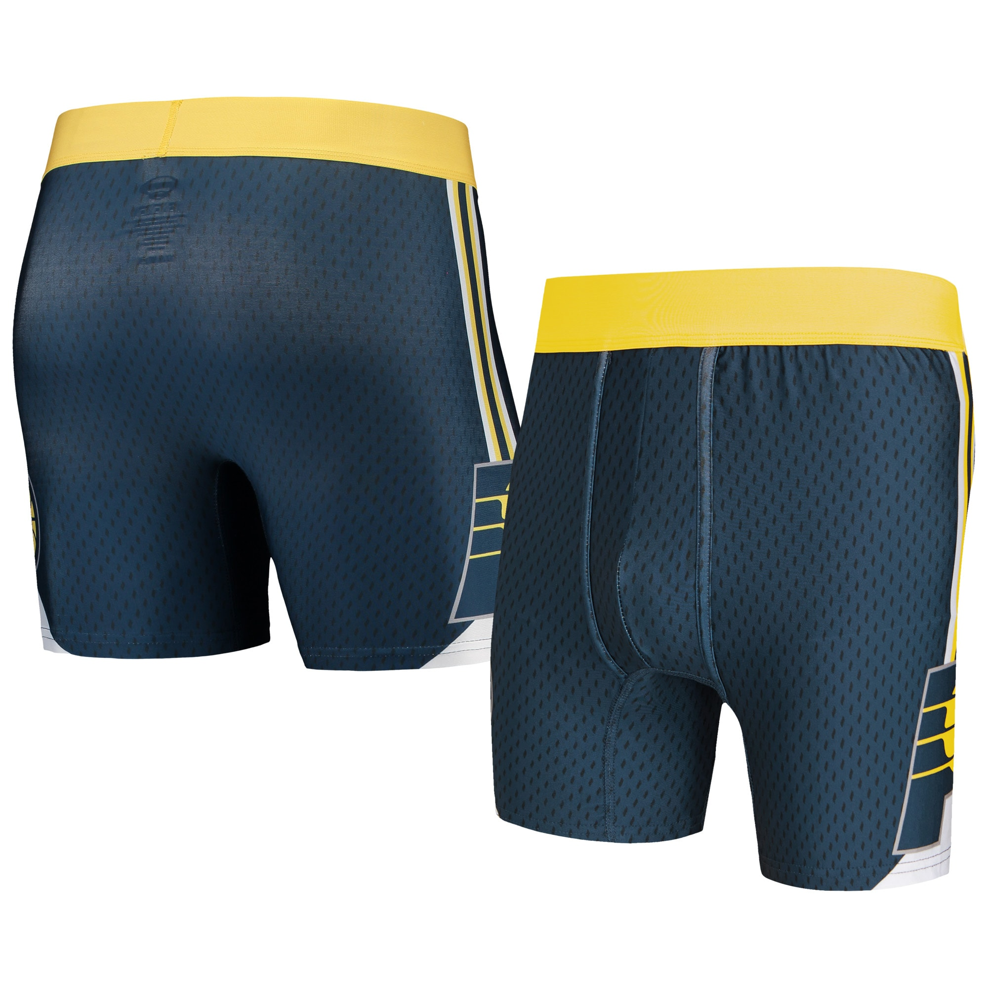 Indiana Pacers Concepts Sport Flyaway Swingman Boxer Briefs - Navy