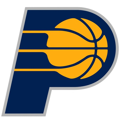 Indiana Pacers Fathead Logo Giant Removable Decal