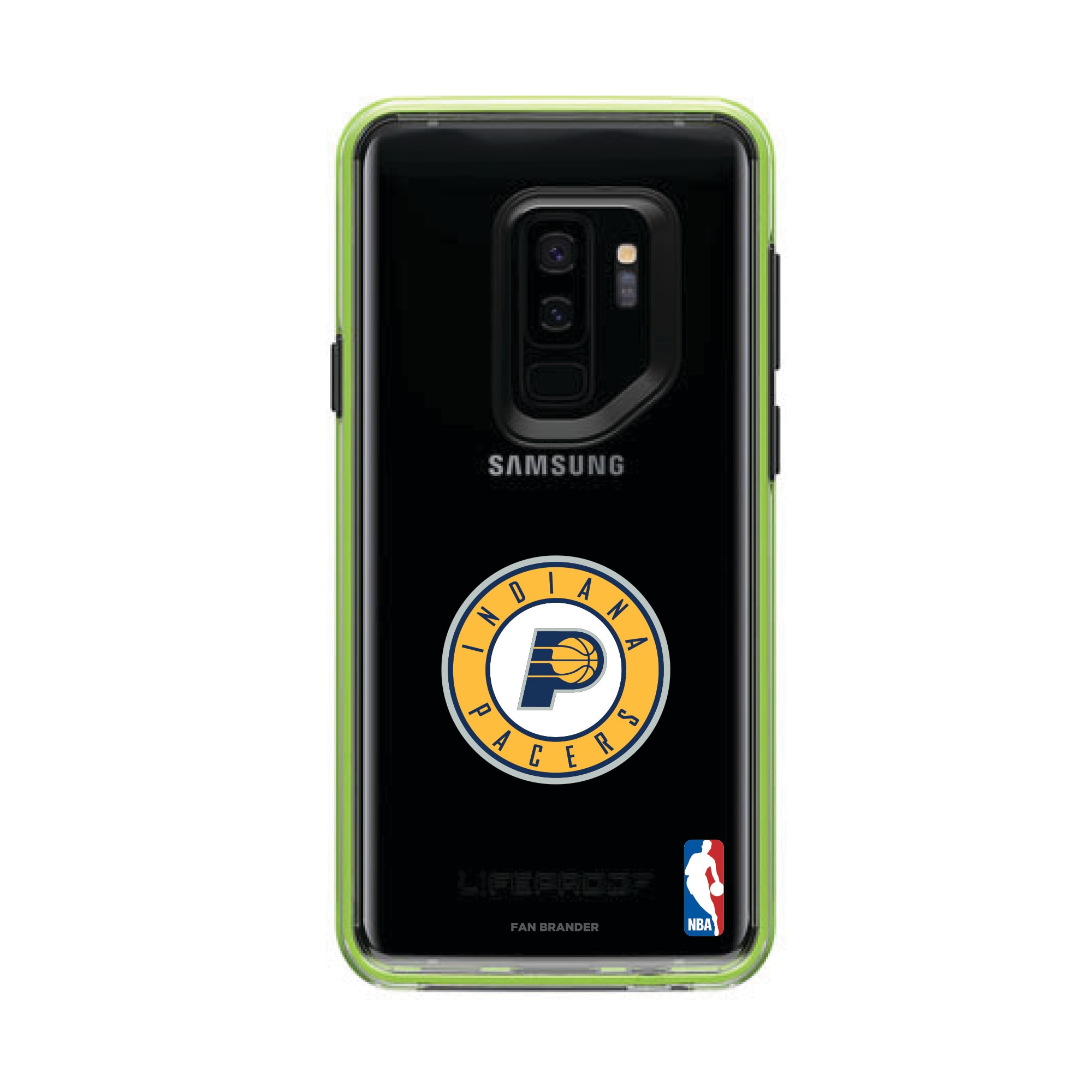 Indiana Pacers LifeProof Night Flash Primary Logo Galaxy Case