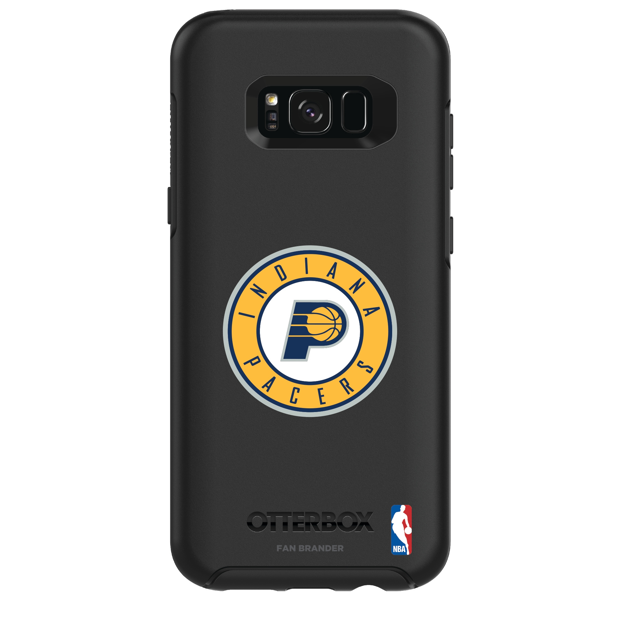 Indiana Pacers OtterBox Galaxy Primary Logo Symmetry Case