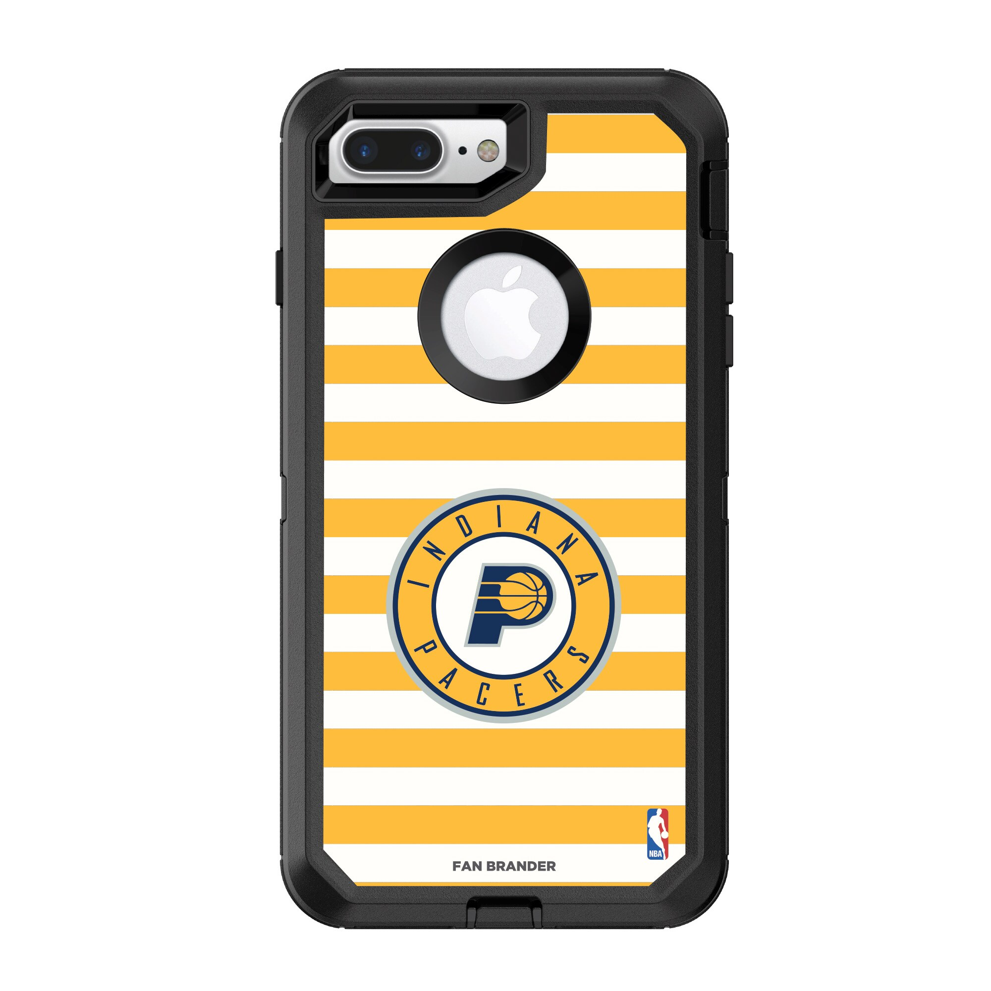 Indiana Pacers OtterBox iPhone Defender Striped Design Case