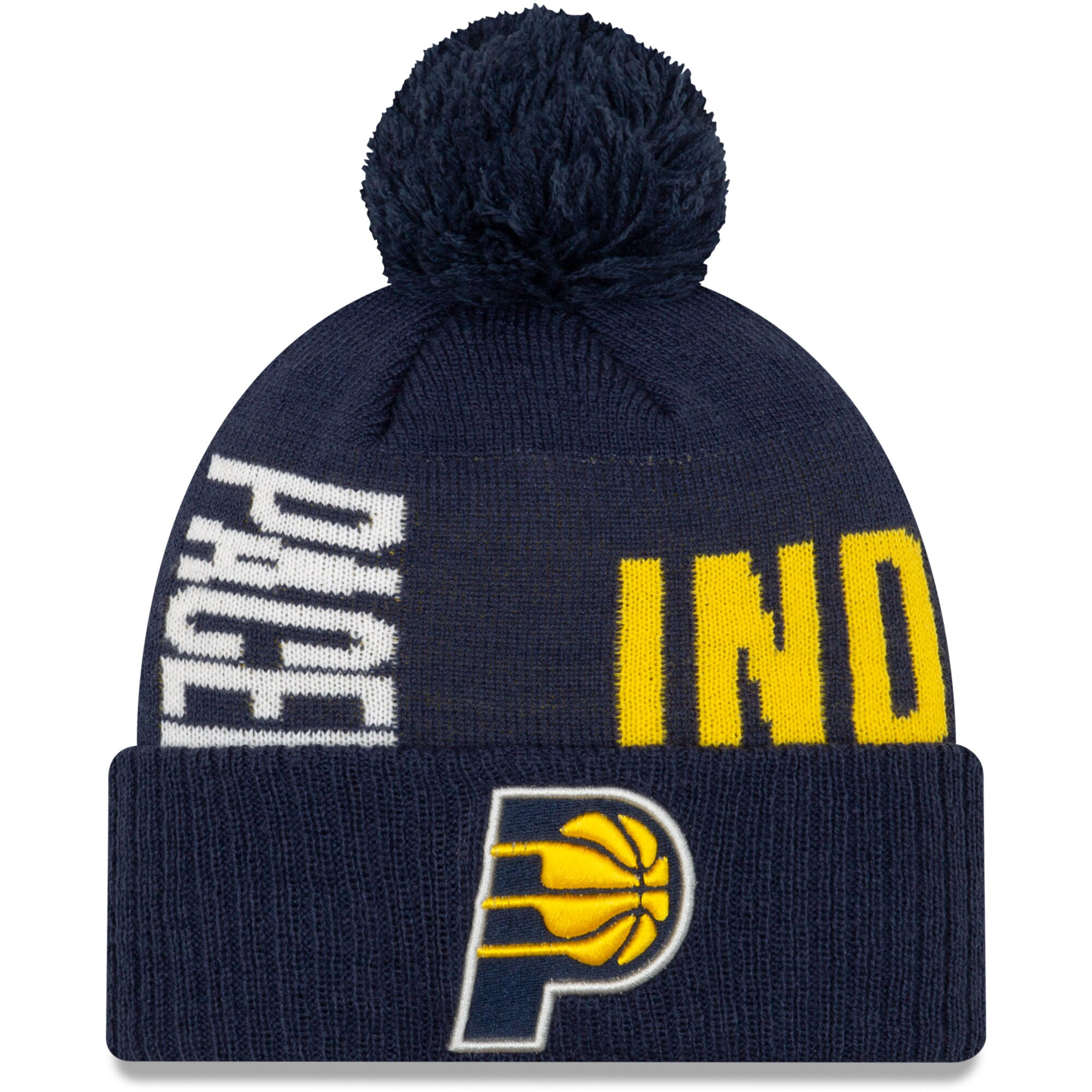 Indiana Pacers New Era 2019 NBA Tip-Off Series Cuffed Knit Hat - Navy