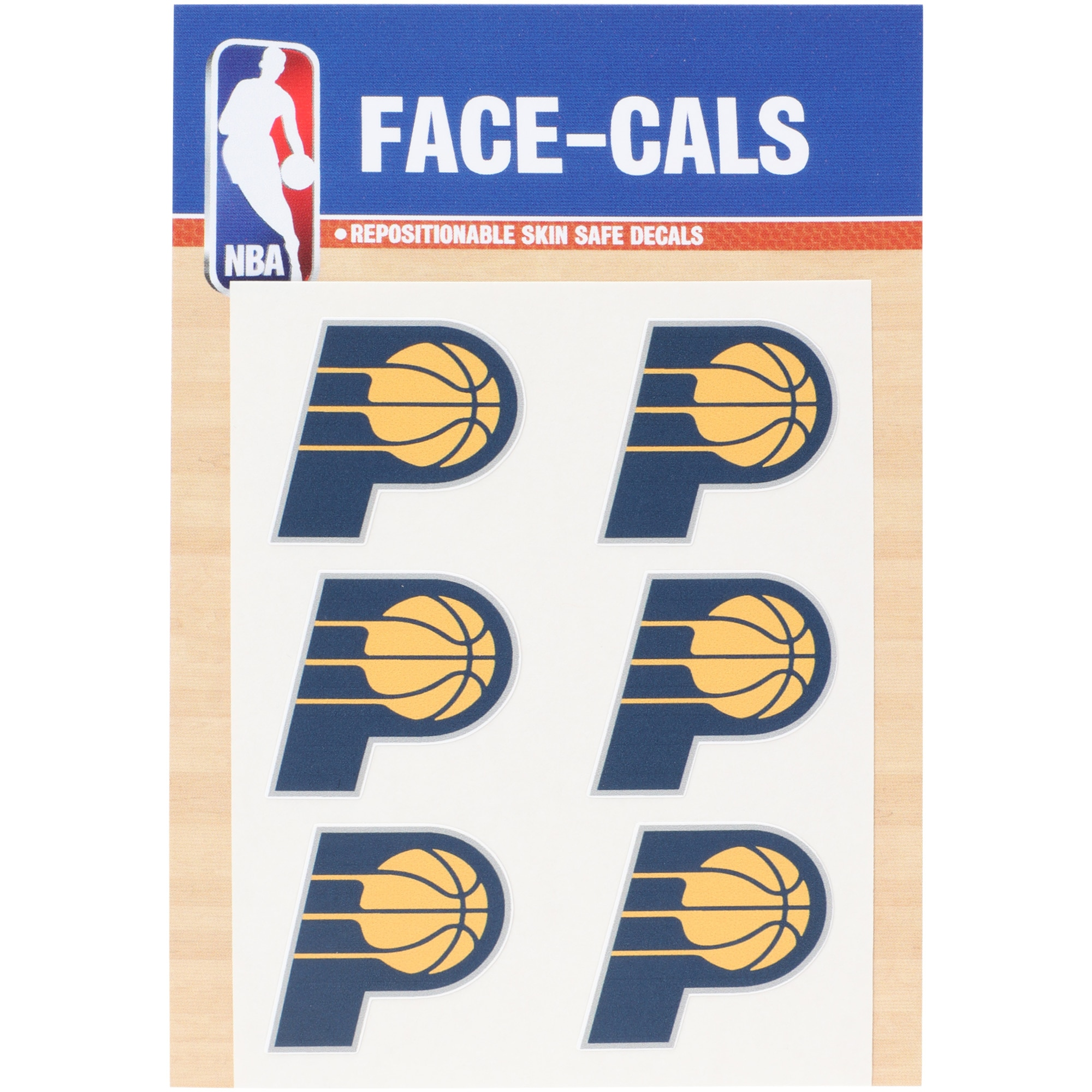 "Indiana Pacers 3""x 5"" Mini Decal Set"