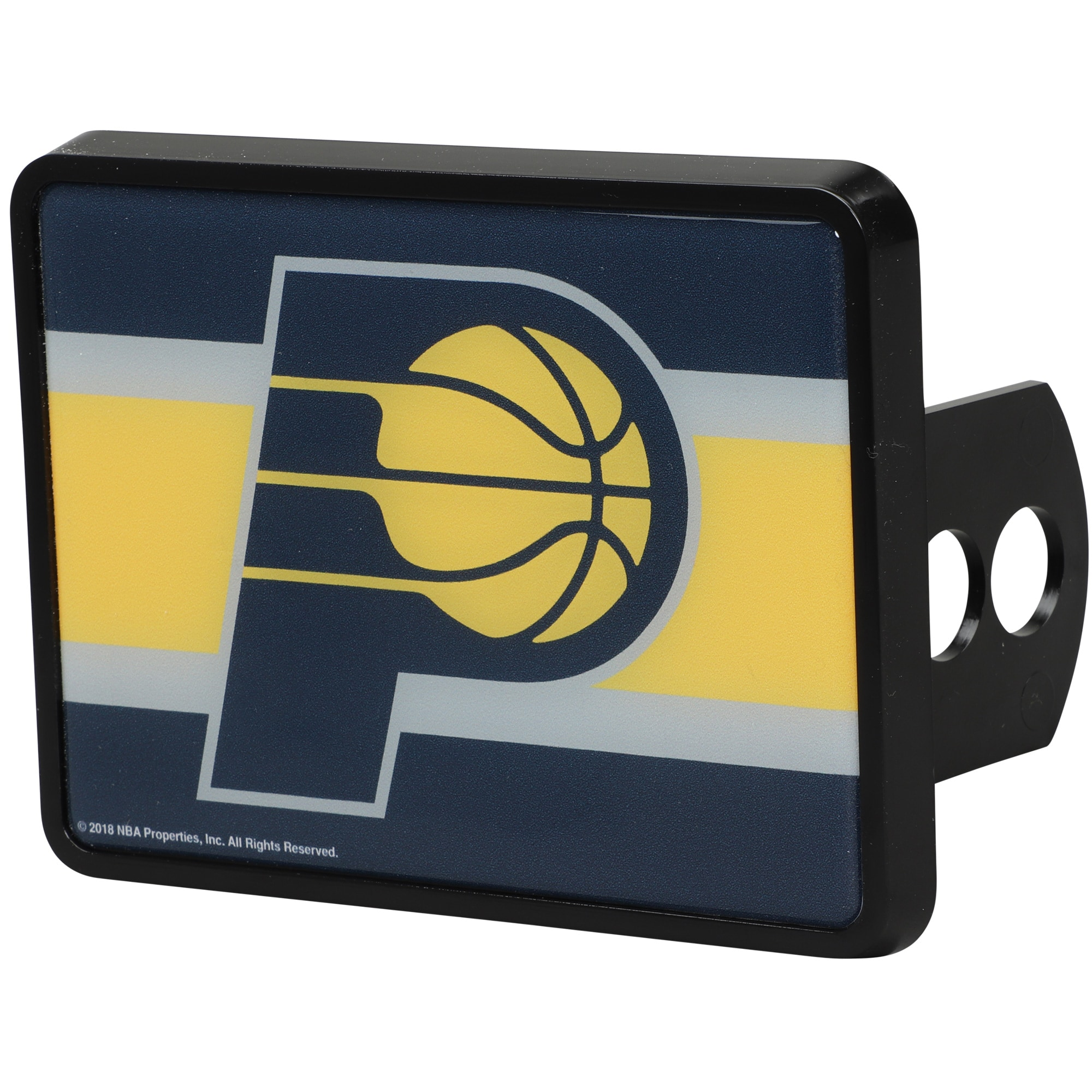 Indiana Pacers Universal Rectangle Hitch Cover