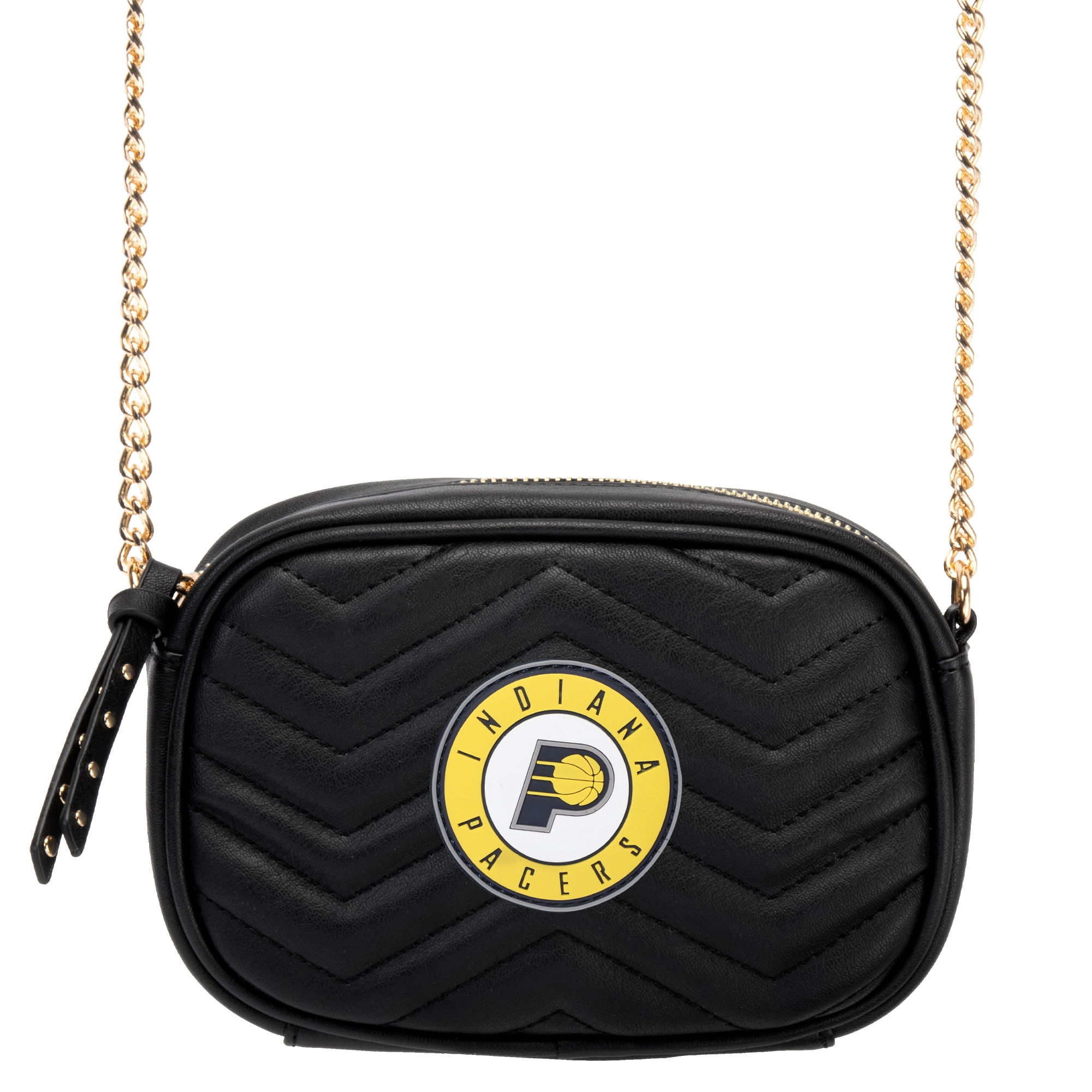 Indiana Pacers Women's Crossbody Bag - Black