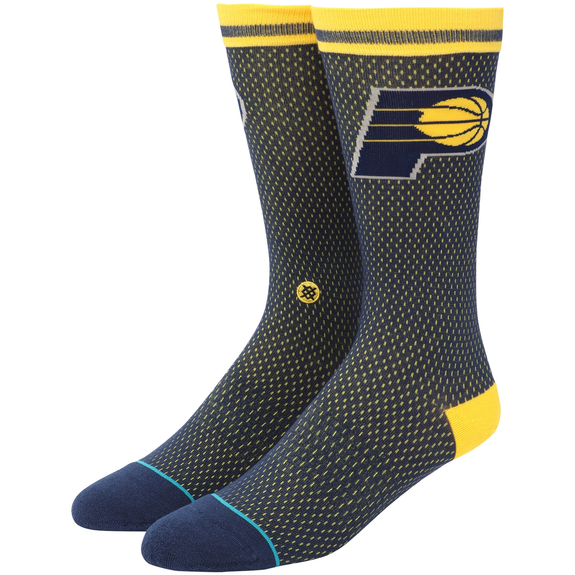 Indiana Pacers Stance Jersey Socks