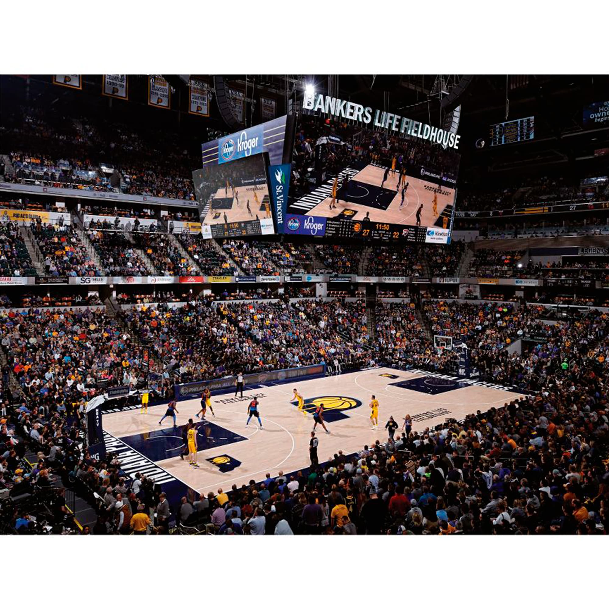 Indiana Pacers Fathead Giant Removable Wall Mural