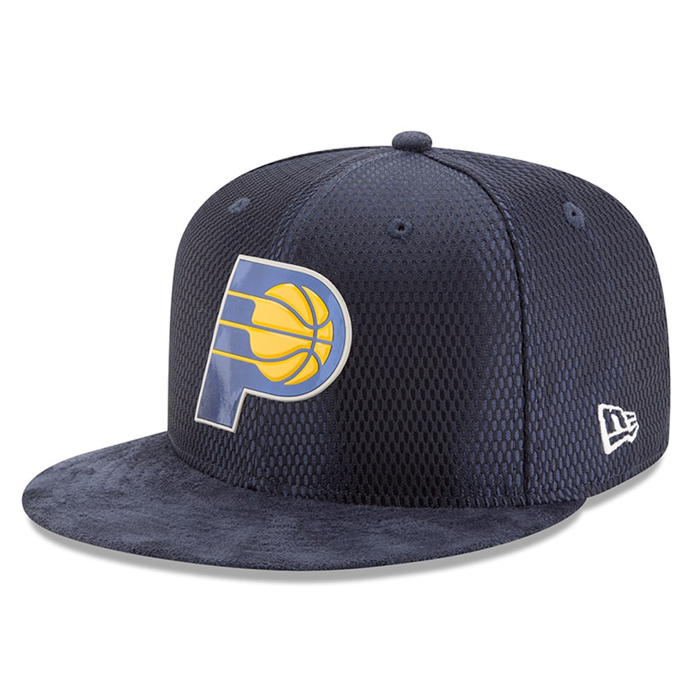 Indiana Pacers New Era 2017 NBA Draft Official On Court Collection 59FIFTY Fitted Hat - Navy