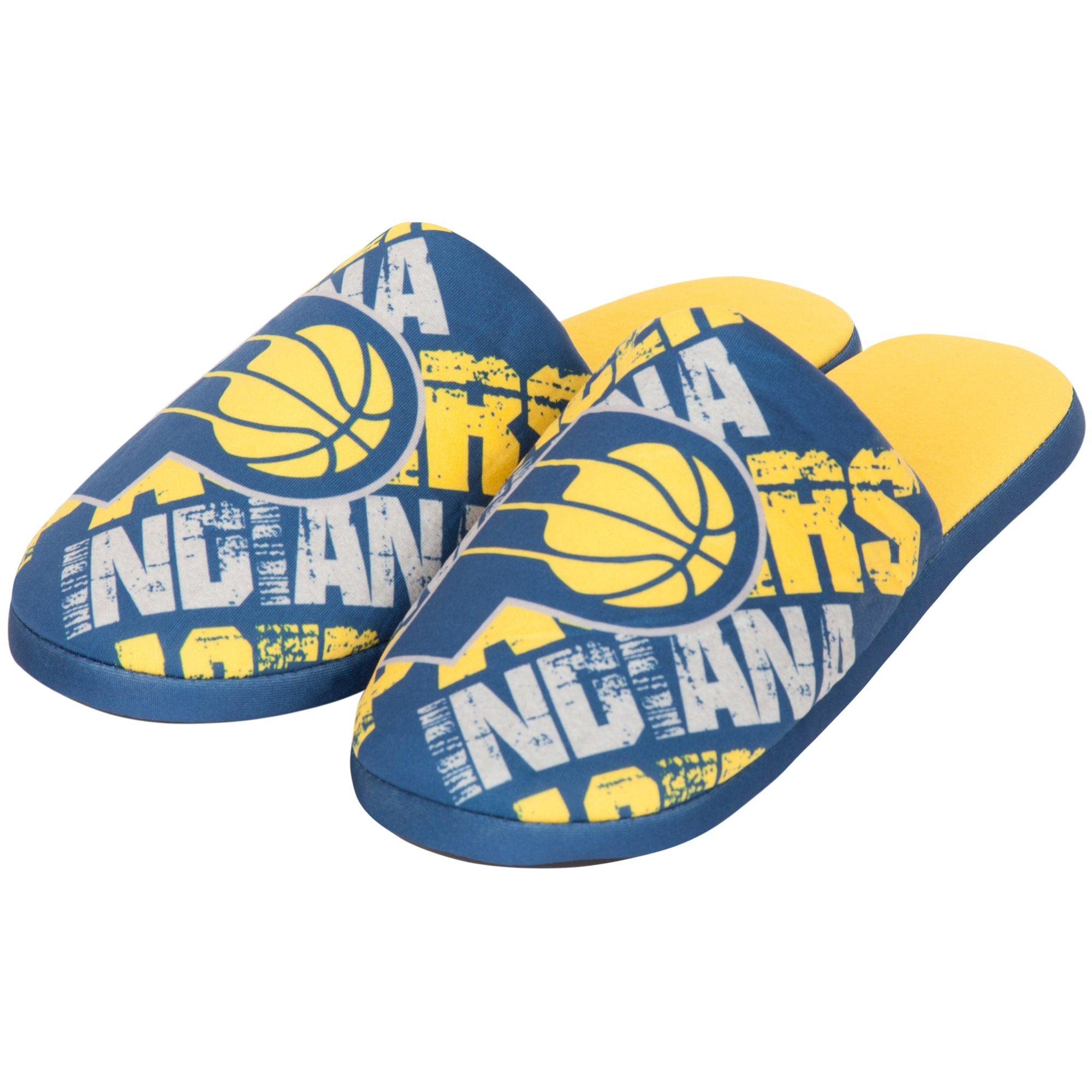 Indiana Pacers Digital Print Slippers - Navy
