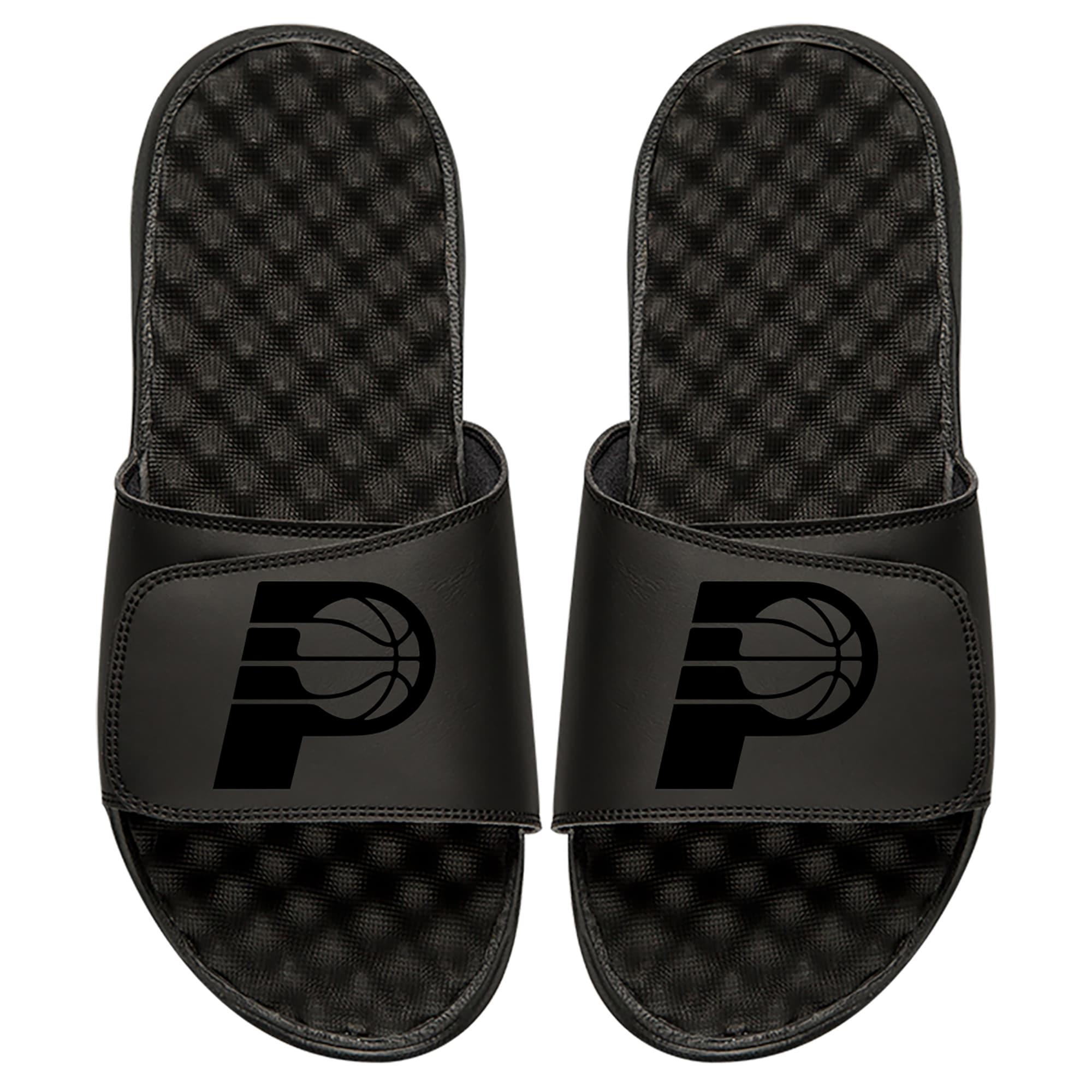 Indiana Pacers ISlide Tonal Slide Sandals - Black