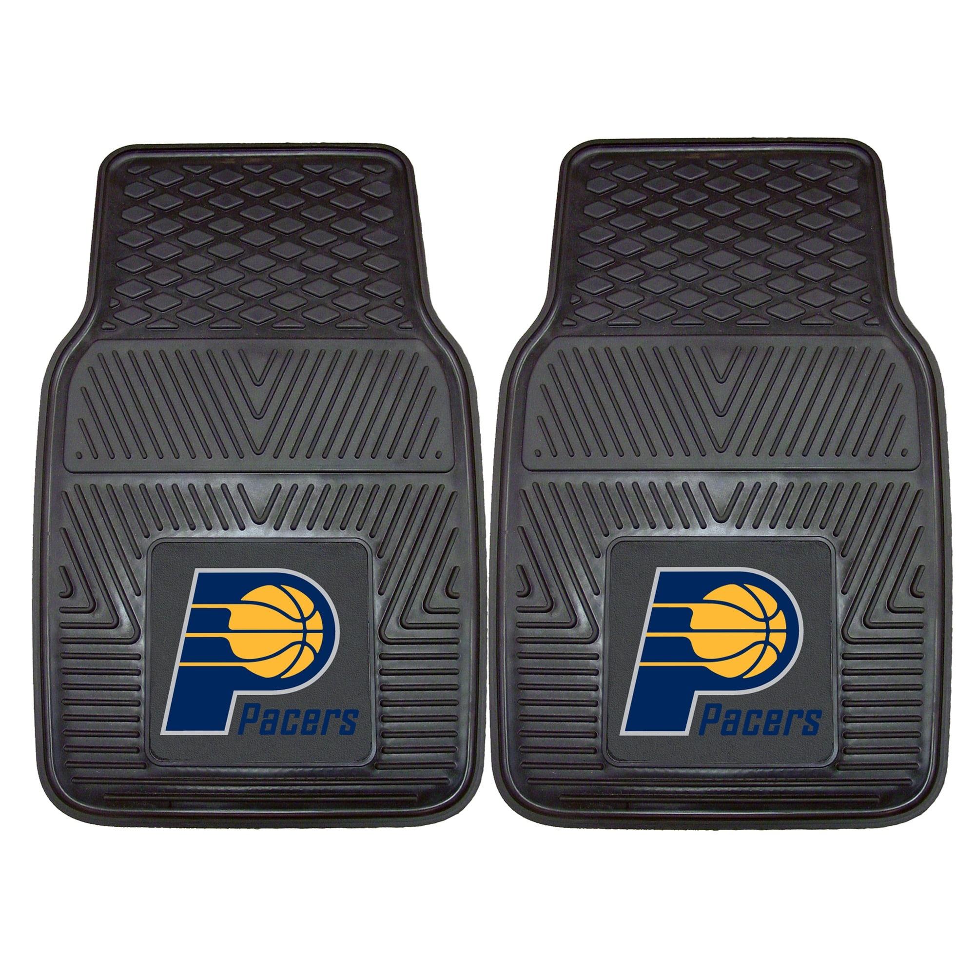 "Indiana Pacers 27"" x 18"" 2-Pack Vinyl Car Mat Set"
