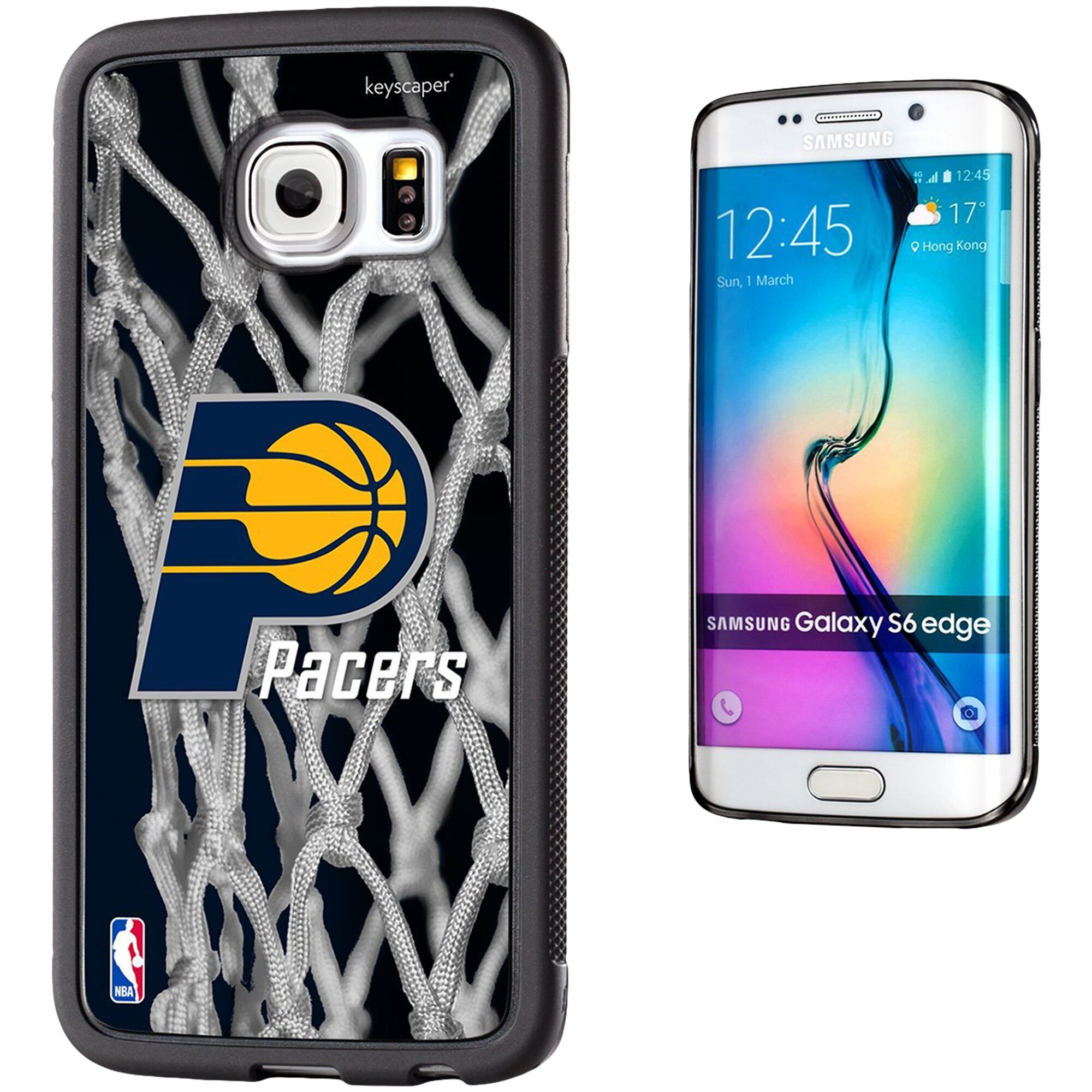 Indiana Pacers Net 2 Galaxy S6 Edge Bumper Case