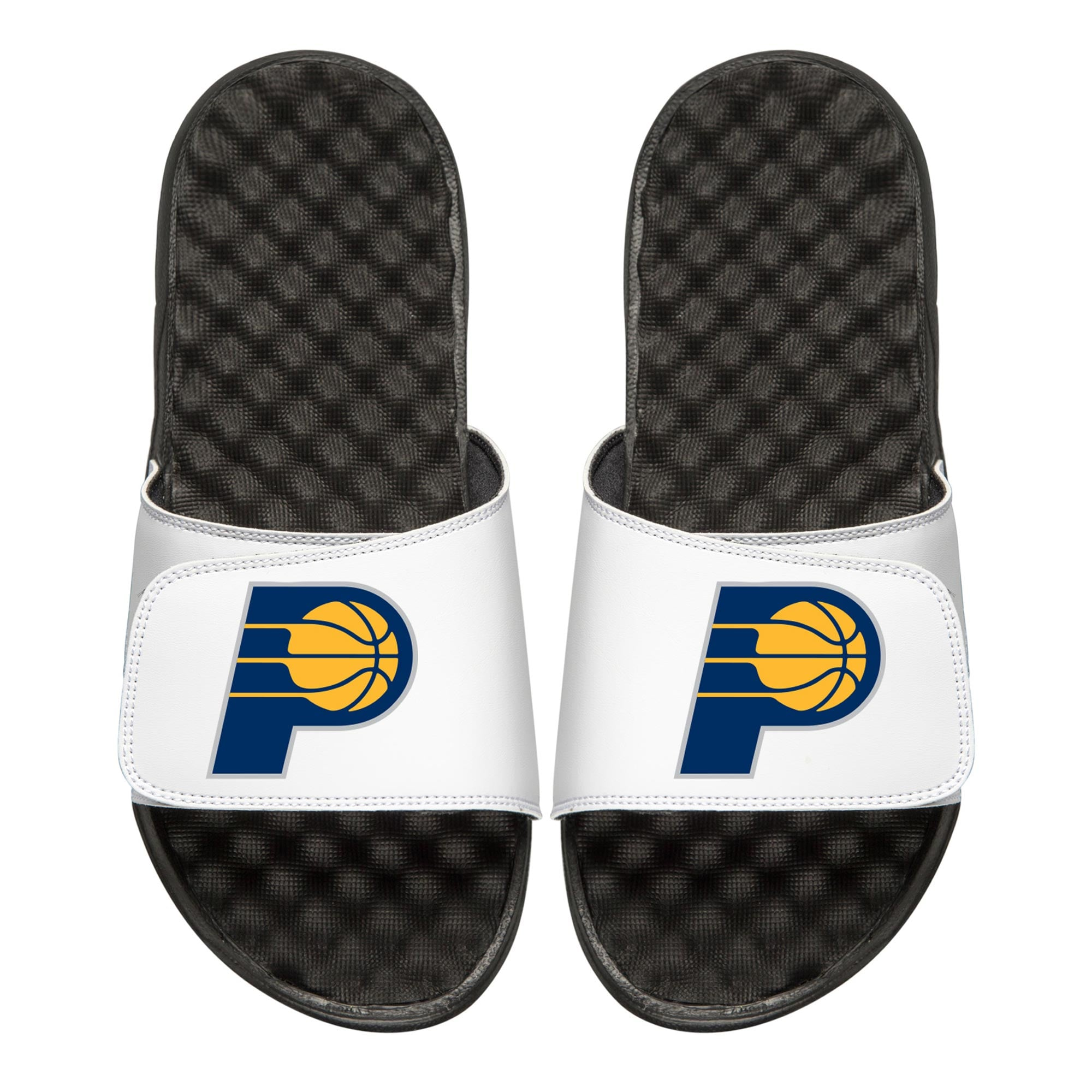 Indiana Pacers Youth Primary iSlide Sandals - White