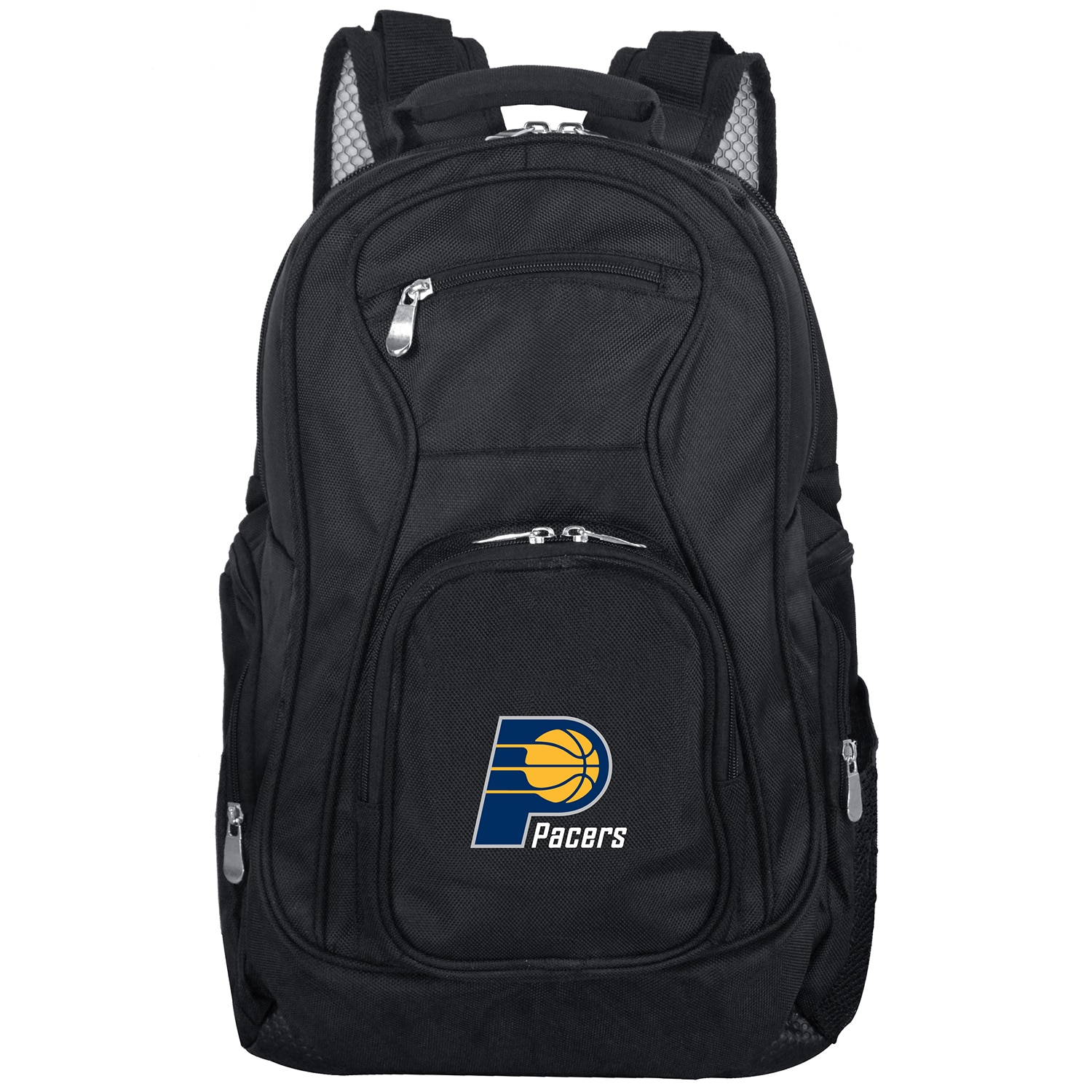 """Indiana Pacers 19"""" Laptop Travel Backpack - Black"""