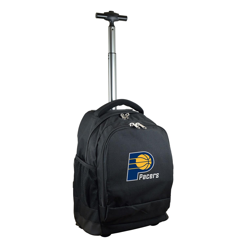 Indiana Pacers 19'' Premium Wheeled Backpack - Black