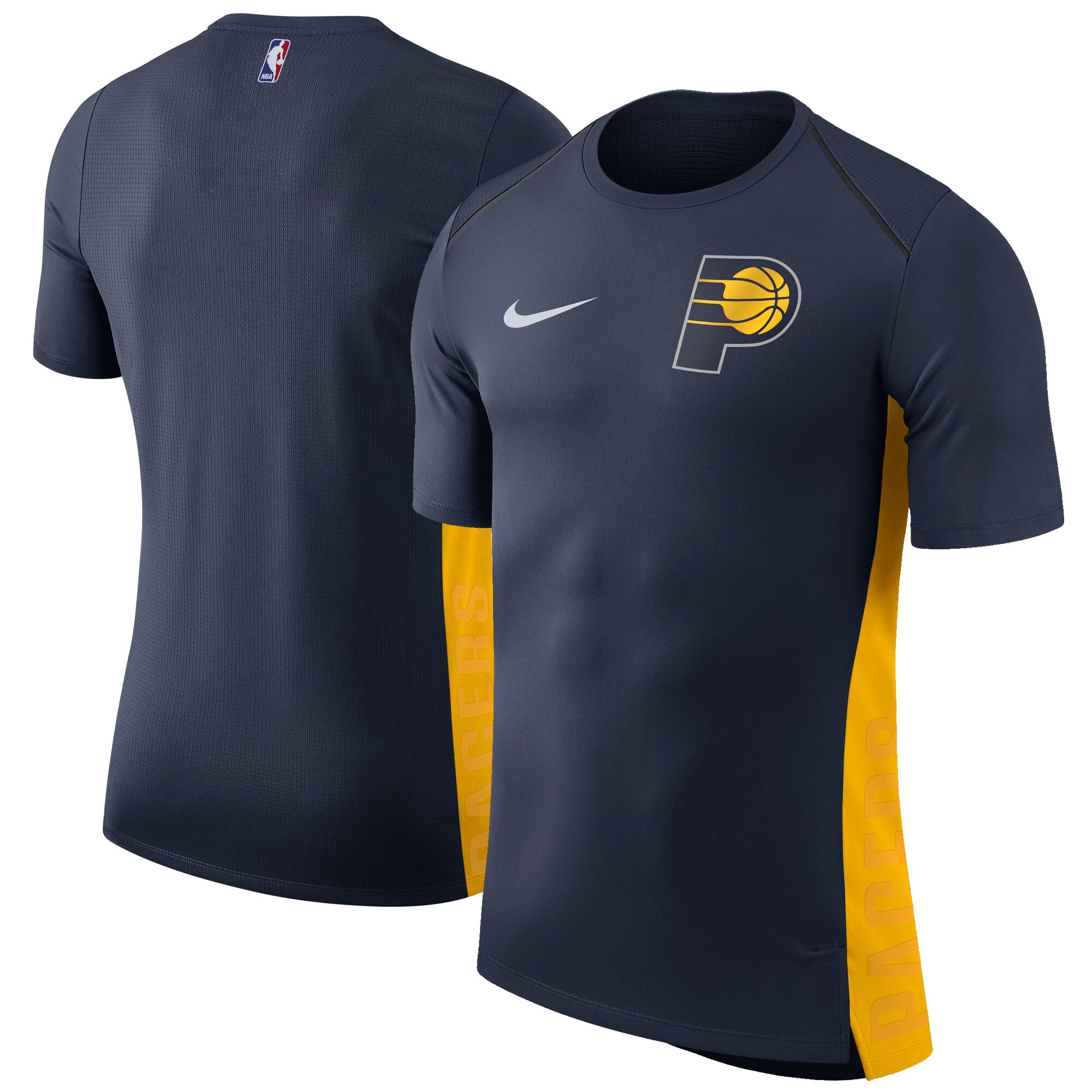 Indiana Pacers Nike Elite Shooter Performance T-Shirt - Navy