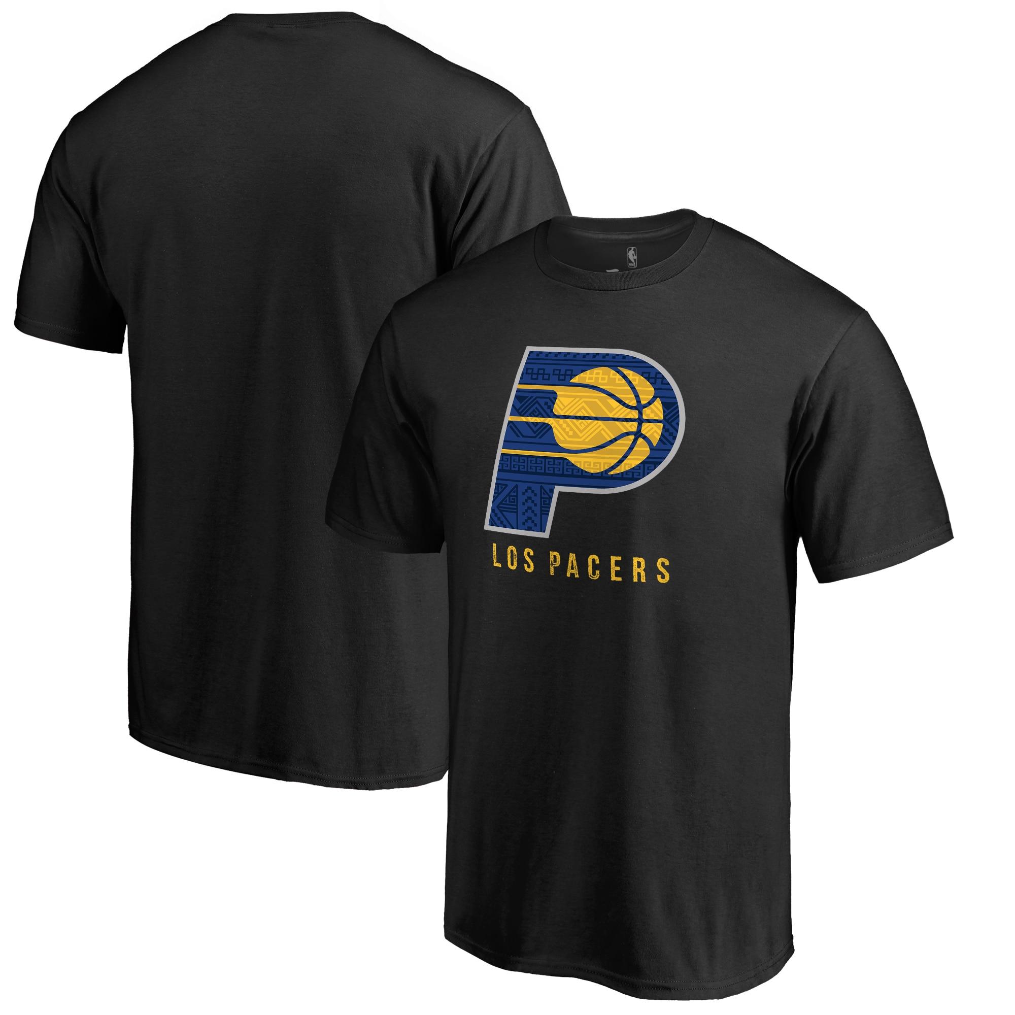 Indiana Pacers Fanatics Branded 2017 Noches Éne-Bé-A T-Shirt - Black