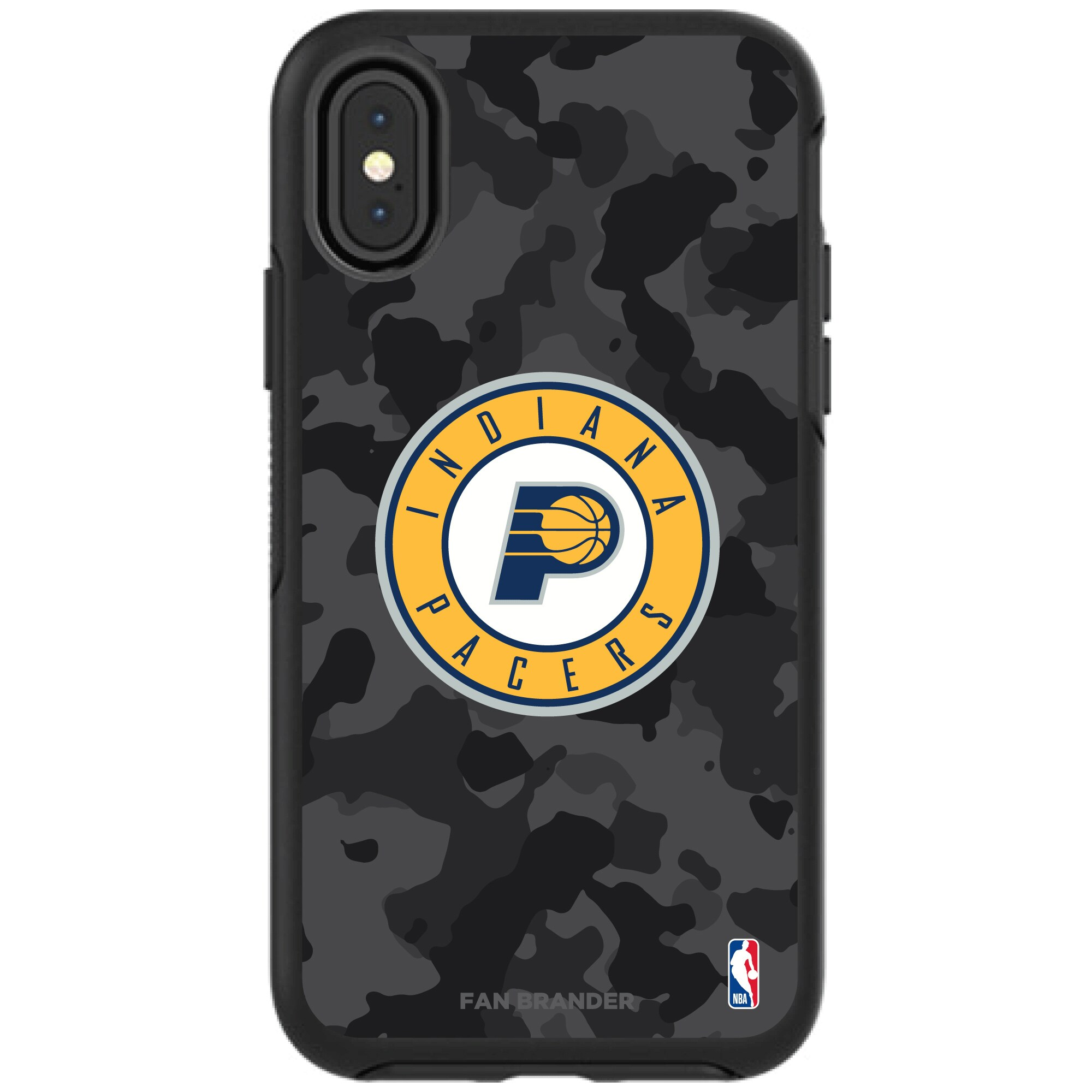 Indiana Pacers OtterBox Urban Camo iPhone Case