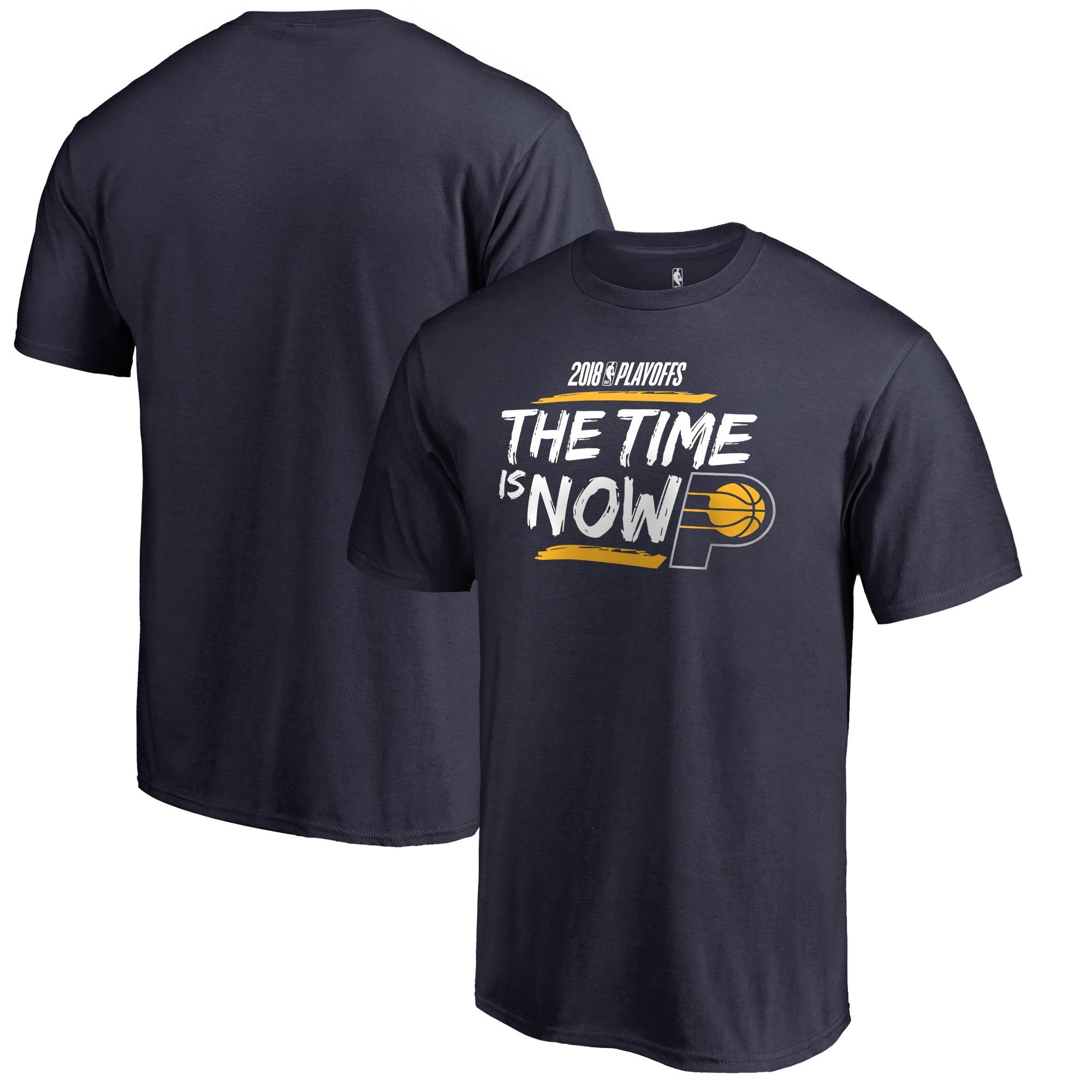 Indiana Pacers Fanatics Branded 2018 NBA Playoffs Bet Slogan Big & Tall T-Shirt - Navy