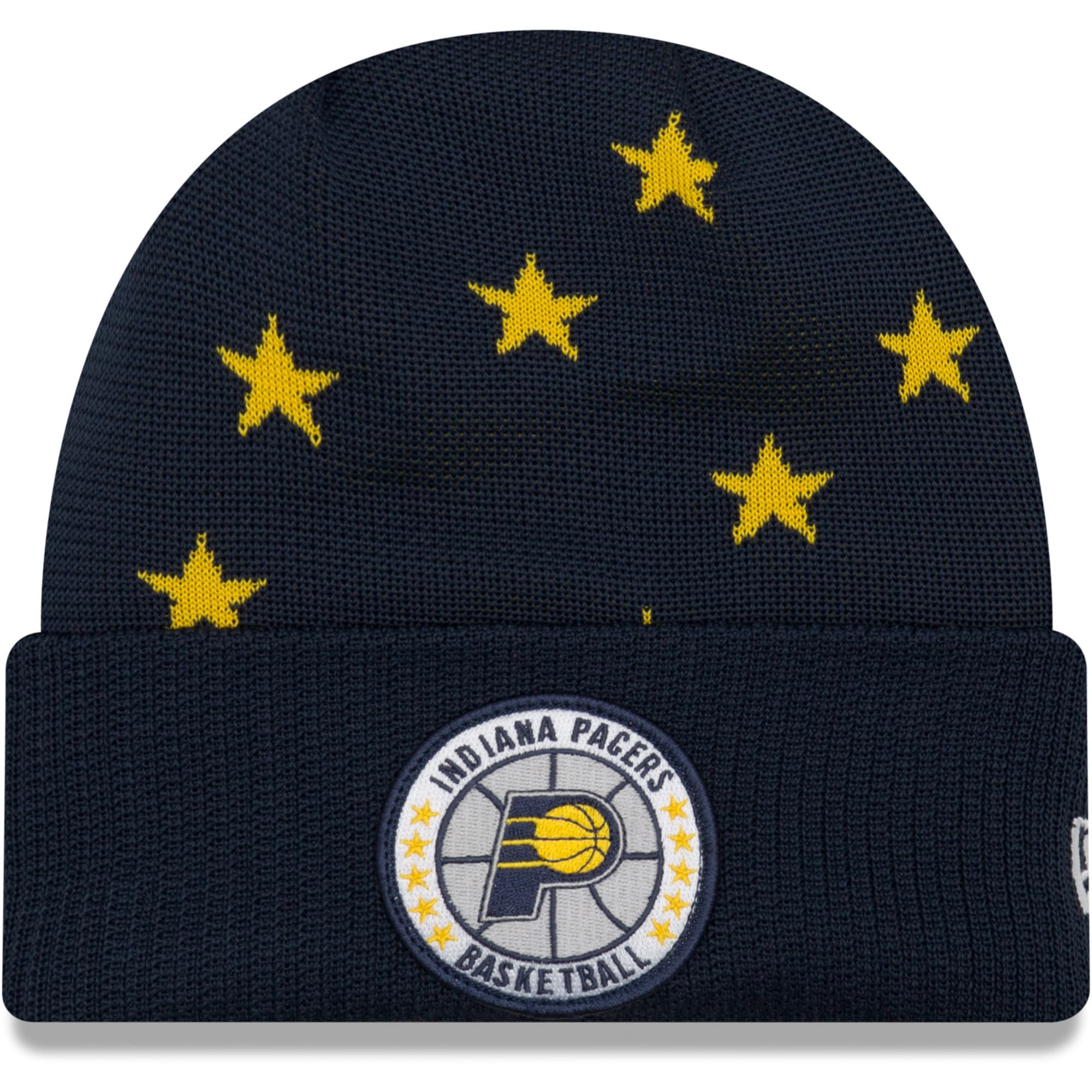 Indiana Pacers New Era 2018 Tip Off Series Cuffed Knit Hat - Navy