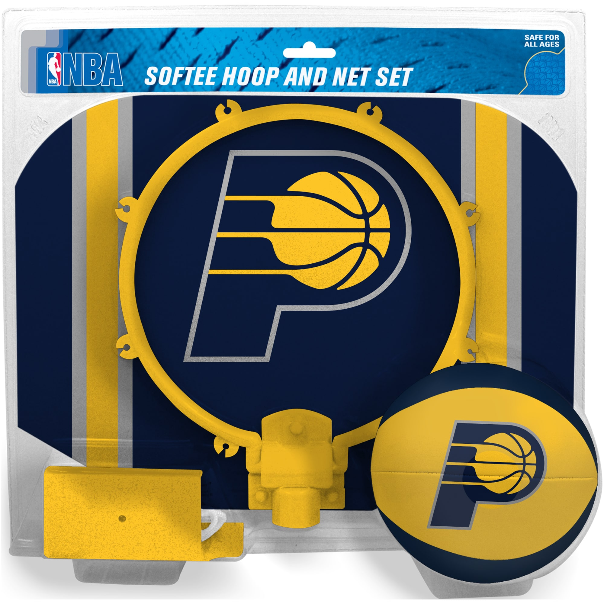 Indiana Pacers Rawlings Softee Hoop & Ball Set